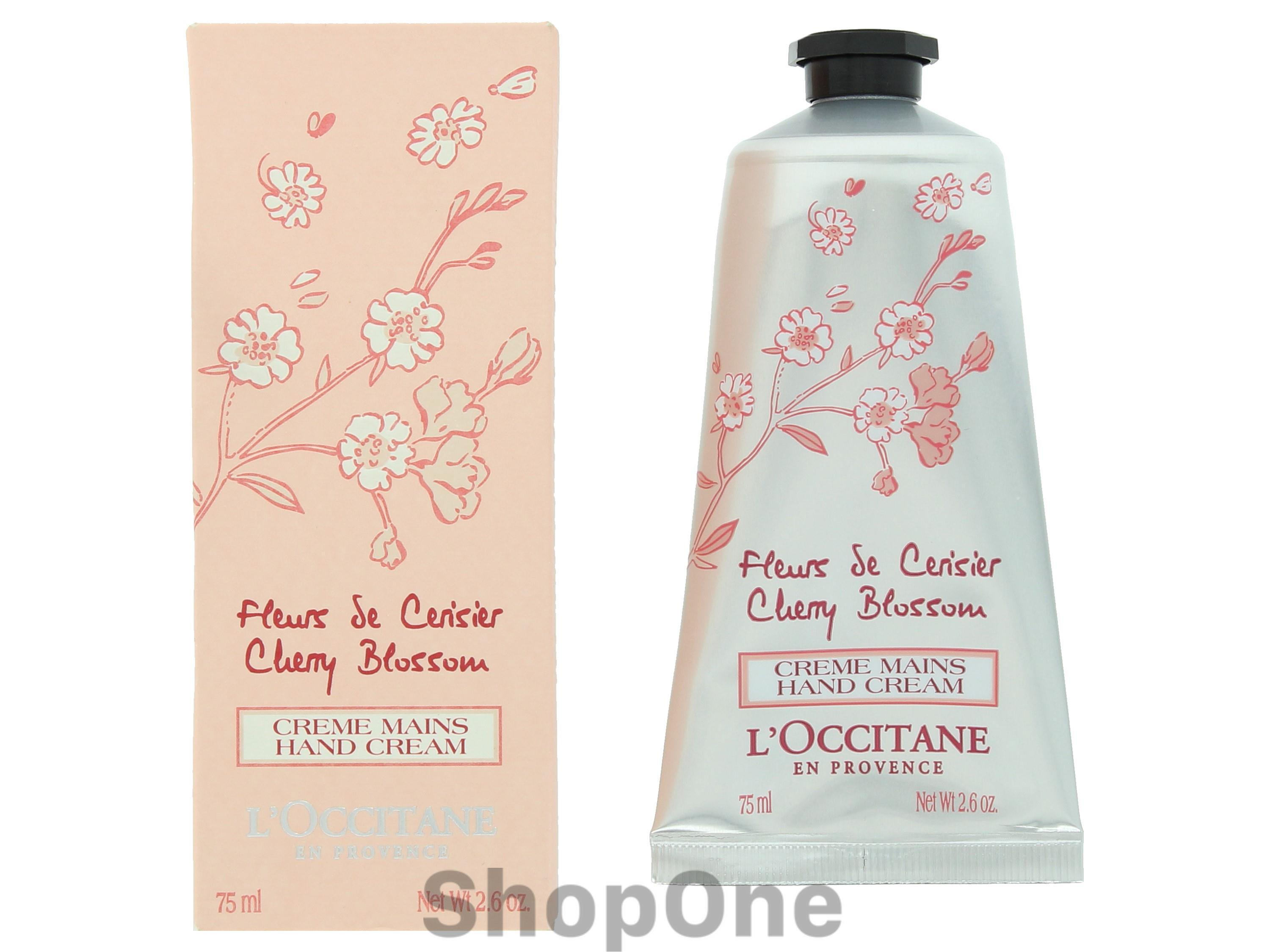 Image of   Cherry Blossom Hand Cream 75 ml fra LOccitane