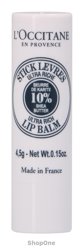 Image of   Shea Butter Lip Balm Stick 4 gr fra LOccitane