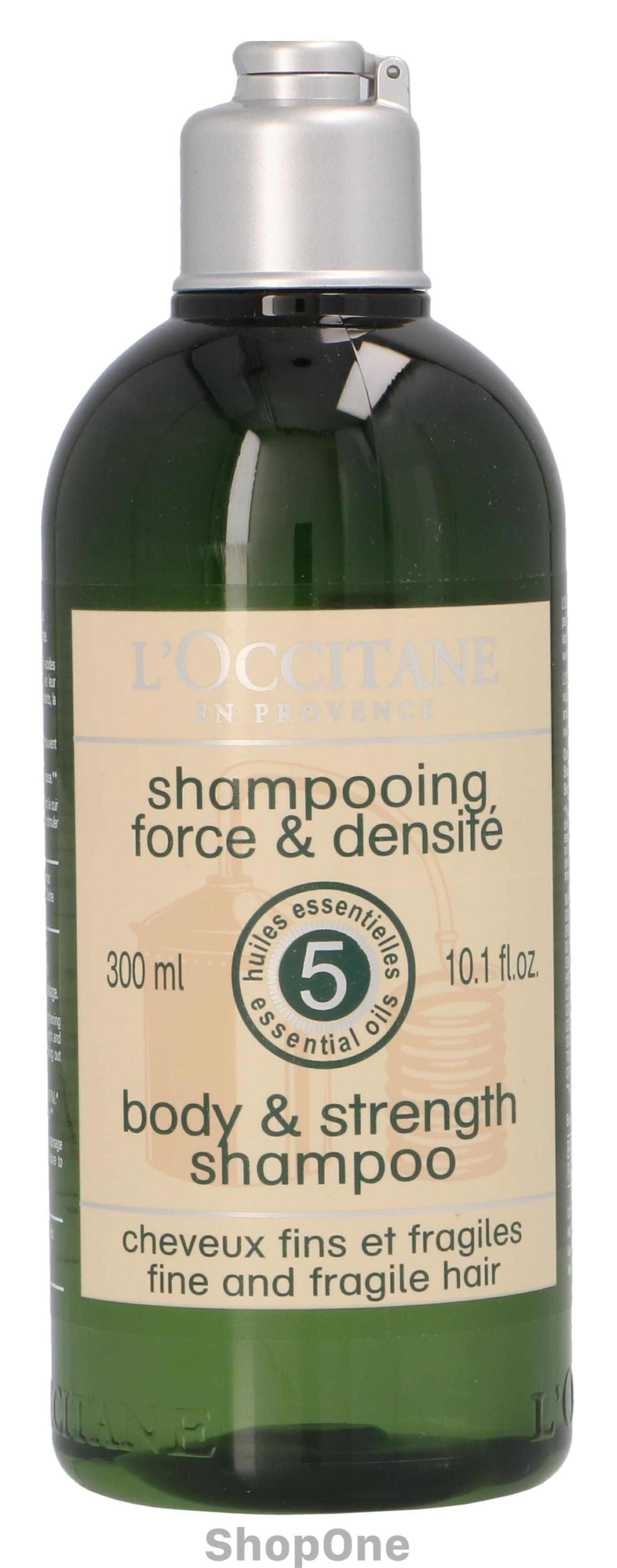 Image of   Aromachologie Body Strength Shampoo 300 ml fra LOccitane