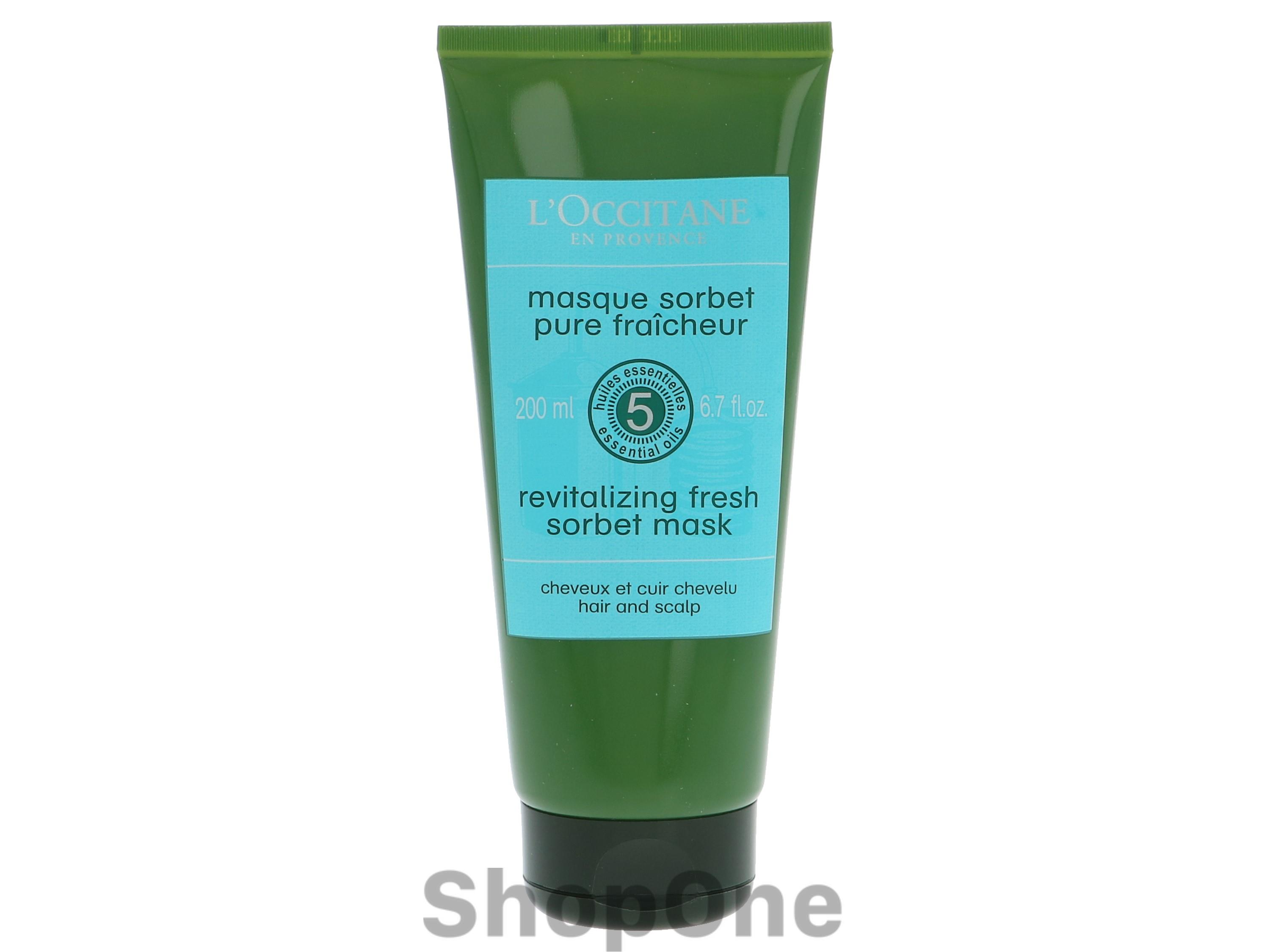 Image of   Revitalizing Fresh Sorbet Mask 200 ml fra LOccitane