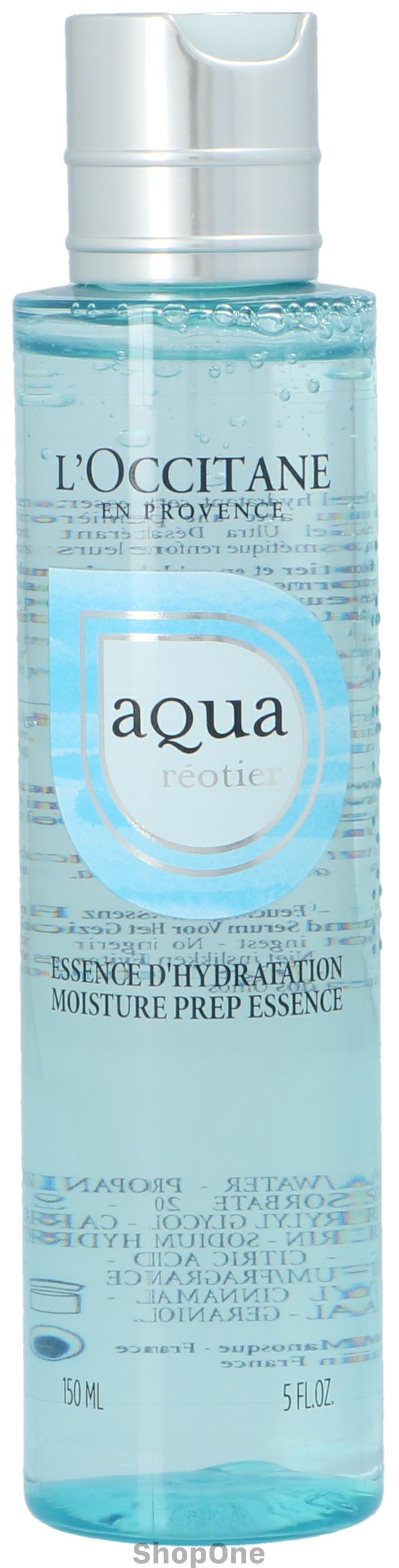 Image of   Aqua Réotier Moisture Prep Essence 150 ml fra LOccitane