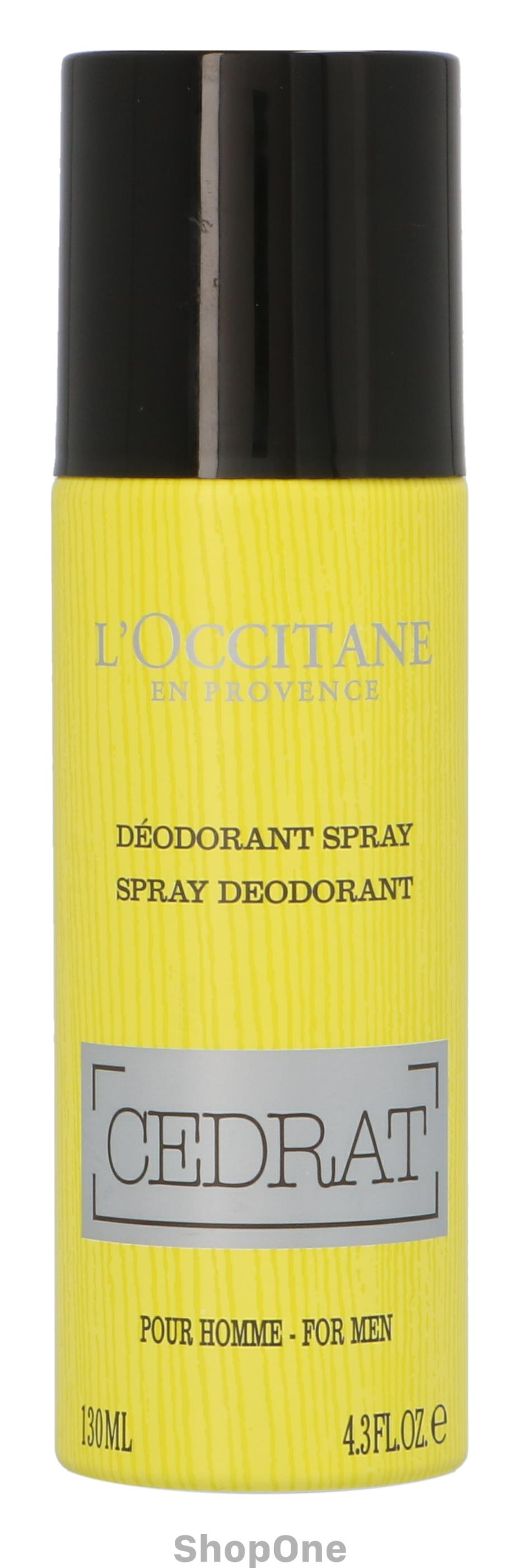 Image of   Cedrat Deo Spray For Men 130 ml fra LOccitane