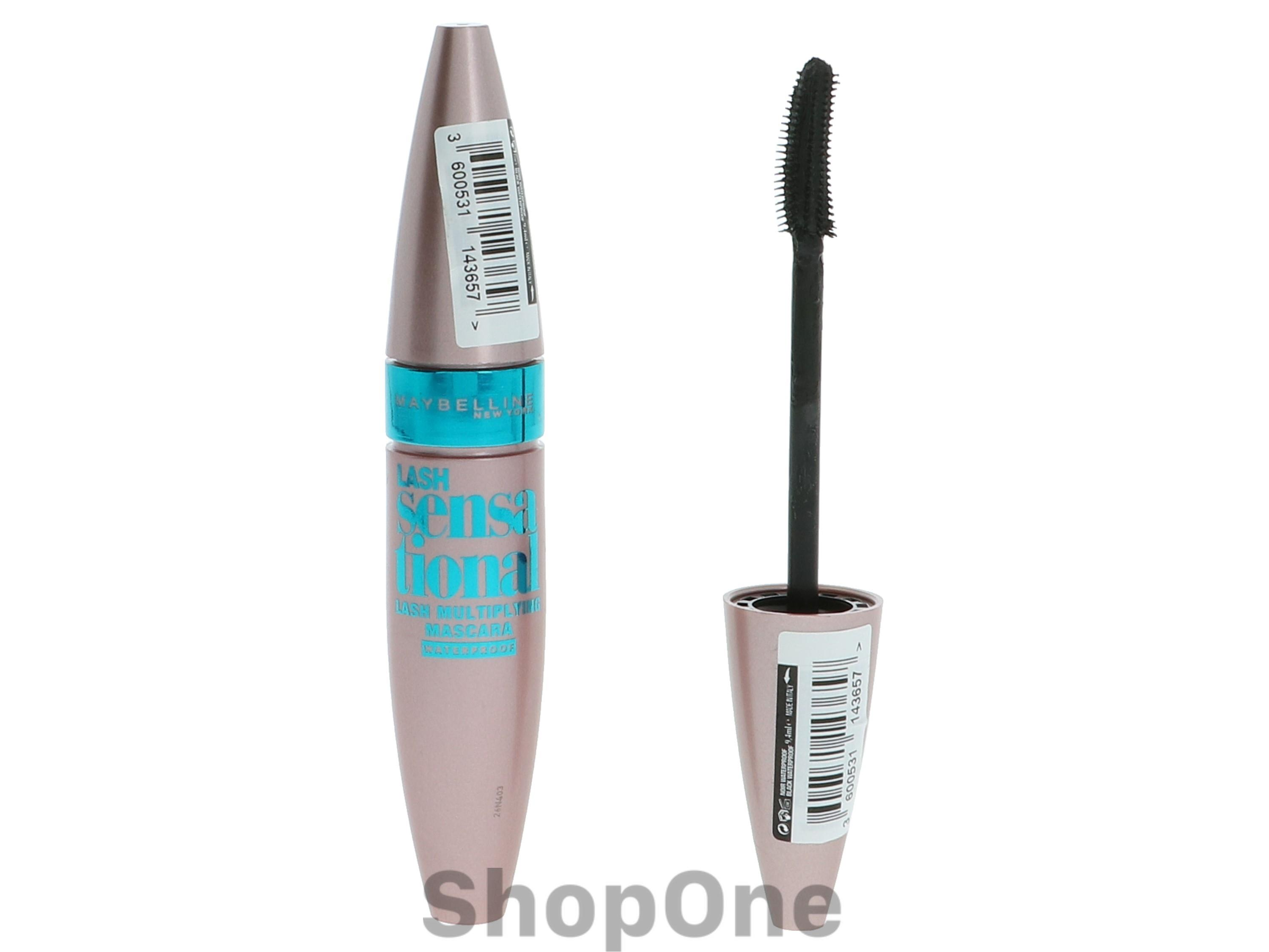 Image of   Lash Sensational Mascara Waterproof 9 ml fra Maybelline