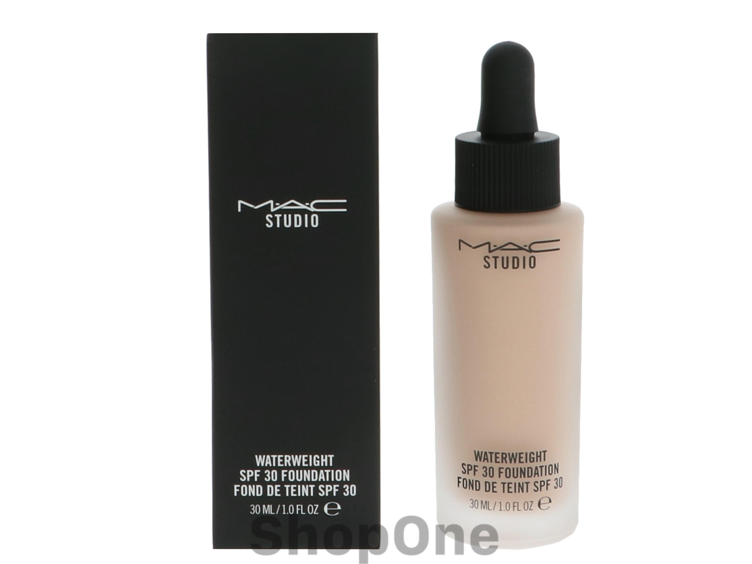 Image of   Studio Waterweight Foundation SPF30 30 ml fra MAC