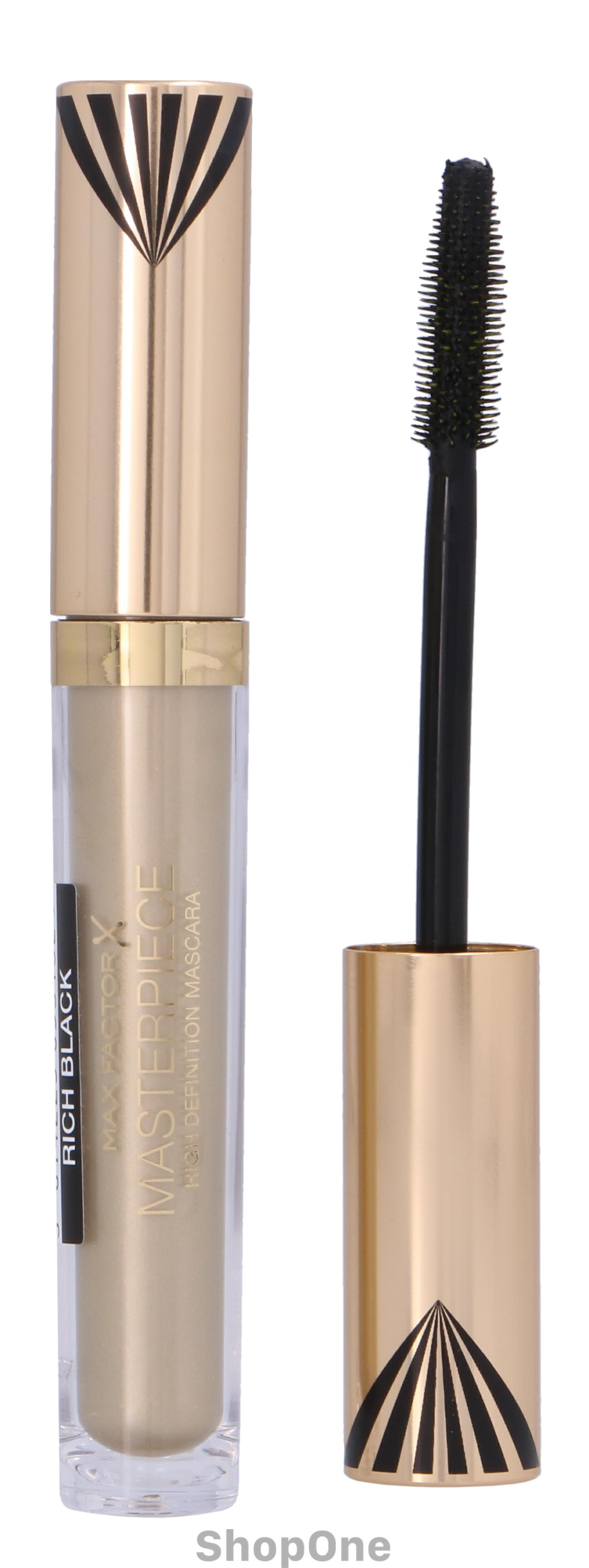 Image of   Masterpiece High Definition Mascara 4 ml fra Max Factor