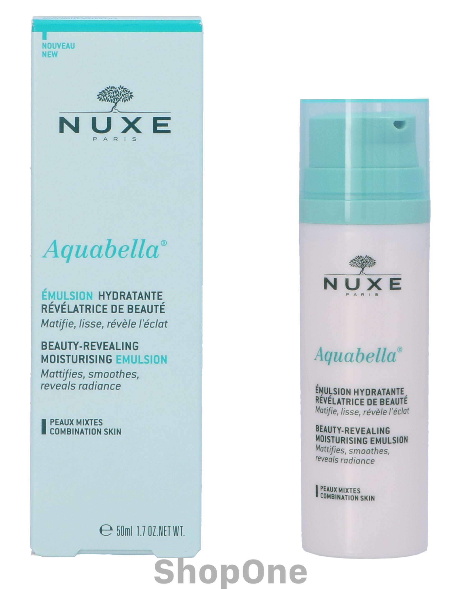 Image of   Aquabella Beauty-Revealing Moist. Emulsion 50 ml fra Nuxe