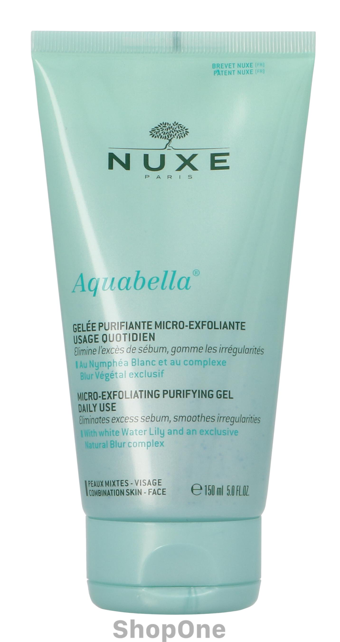 Image of   Aquabella Exfoliating Purifying Gel 150 ml fra Nuxe