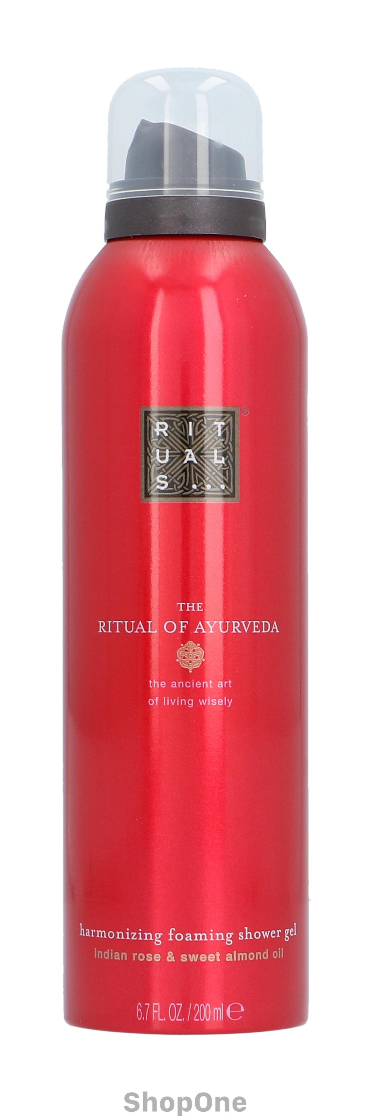 Image of   Ayurveda Foaming Shower Gel 200 ml fra Rituals