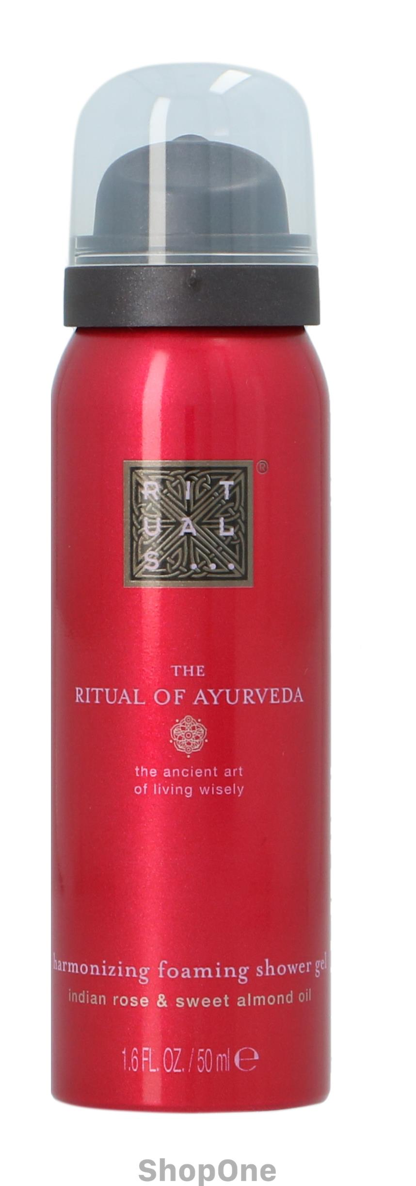 Image of   Ayurveda Foaming Shower Gel 50 ml fra Rituals
