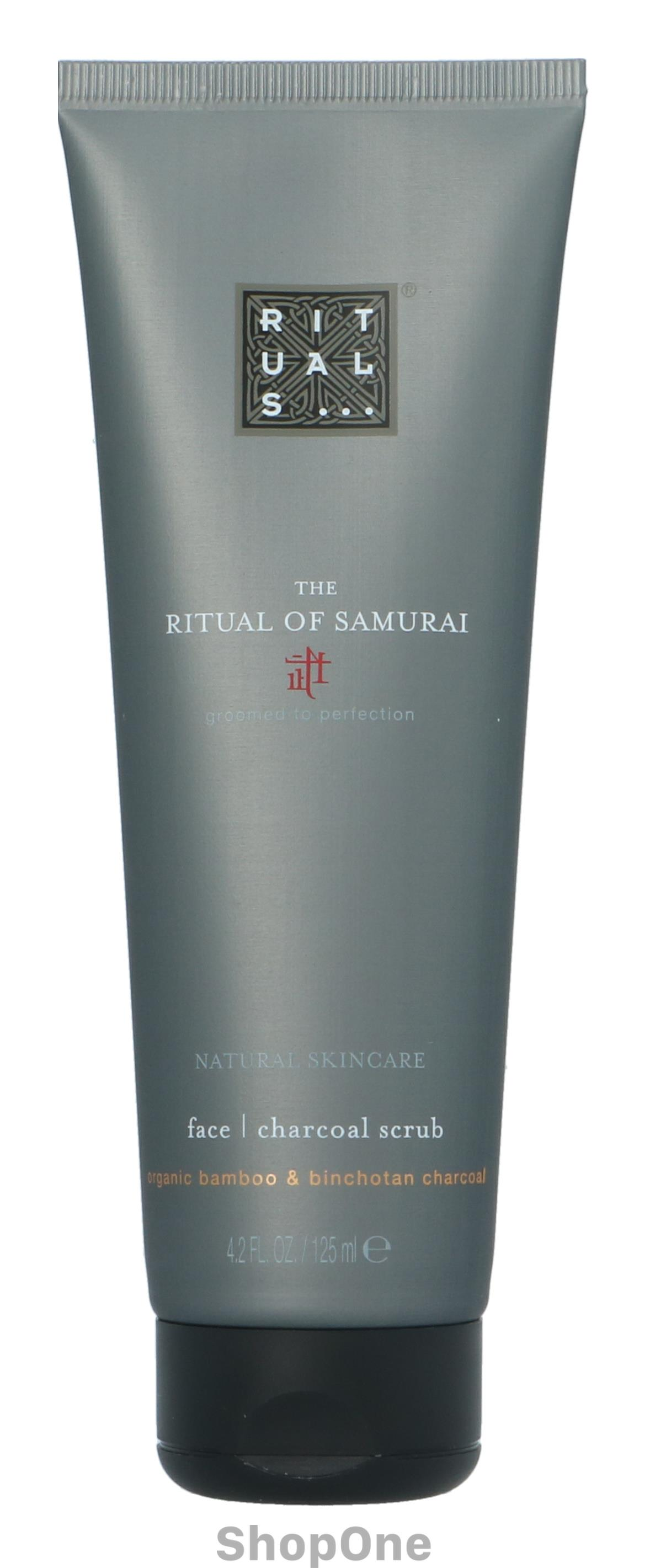 Image of   Samurai Face Charcoal Scrub 125 ml fra Rituals