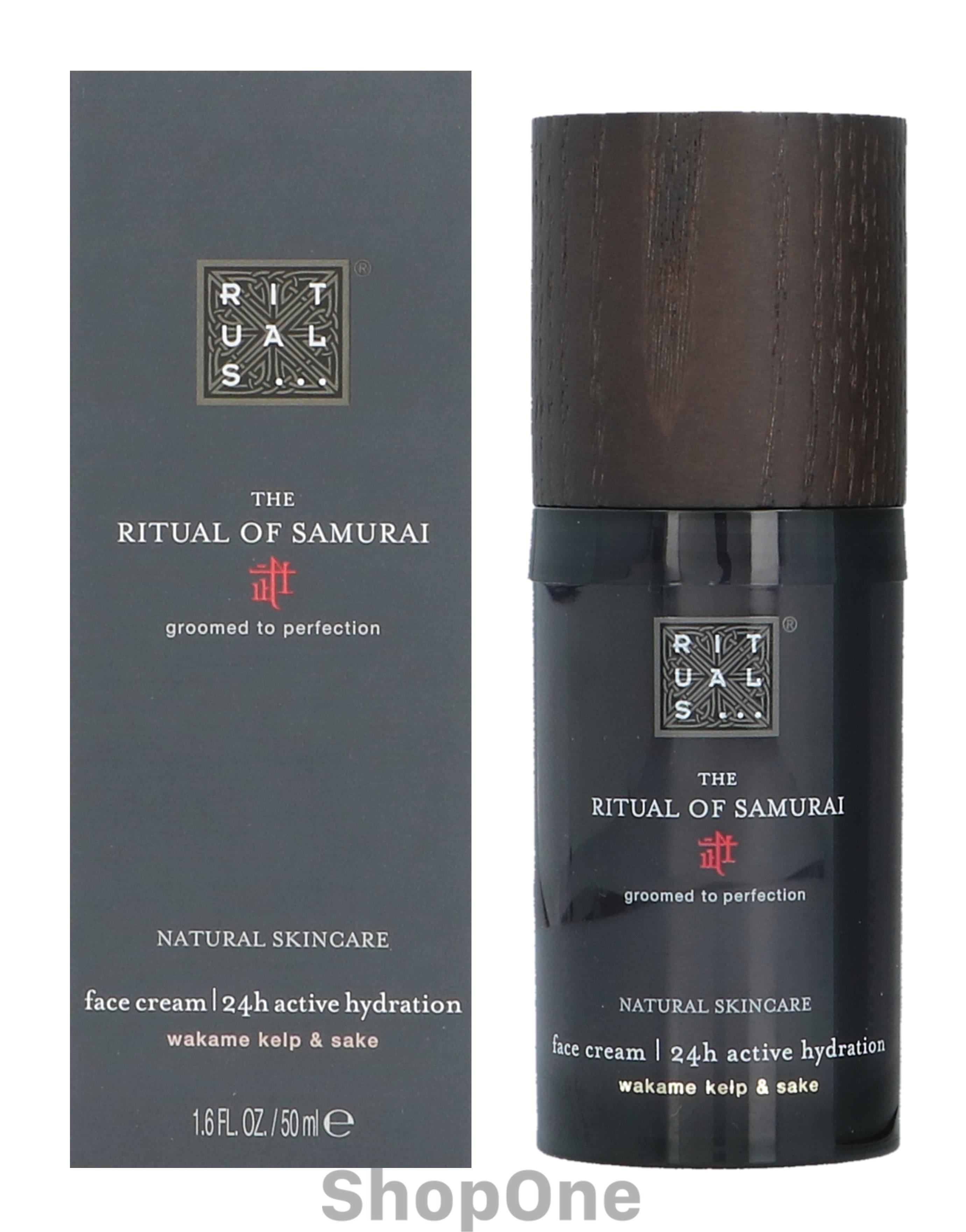 Image of   Samurai Face Cream 24H Active Hydration 50 ml fra Rituals