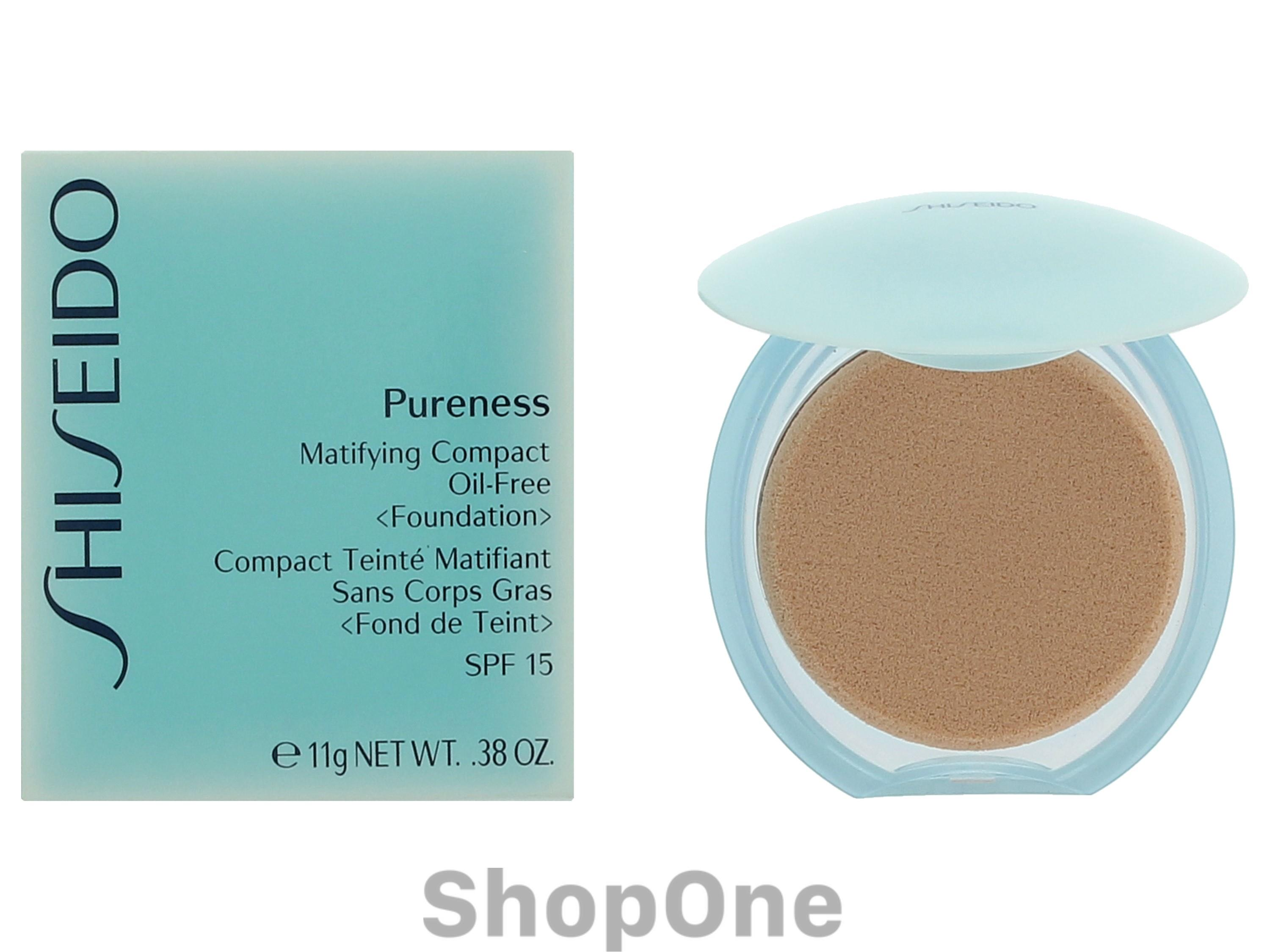 Image of   Pureness Matifying Compact Found. SPF15 11 gr fra Shiseido