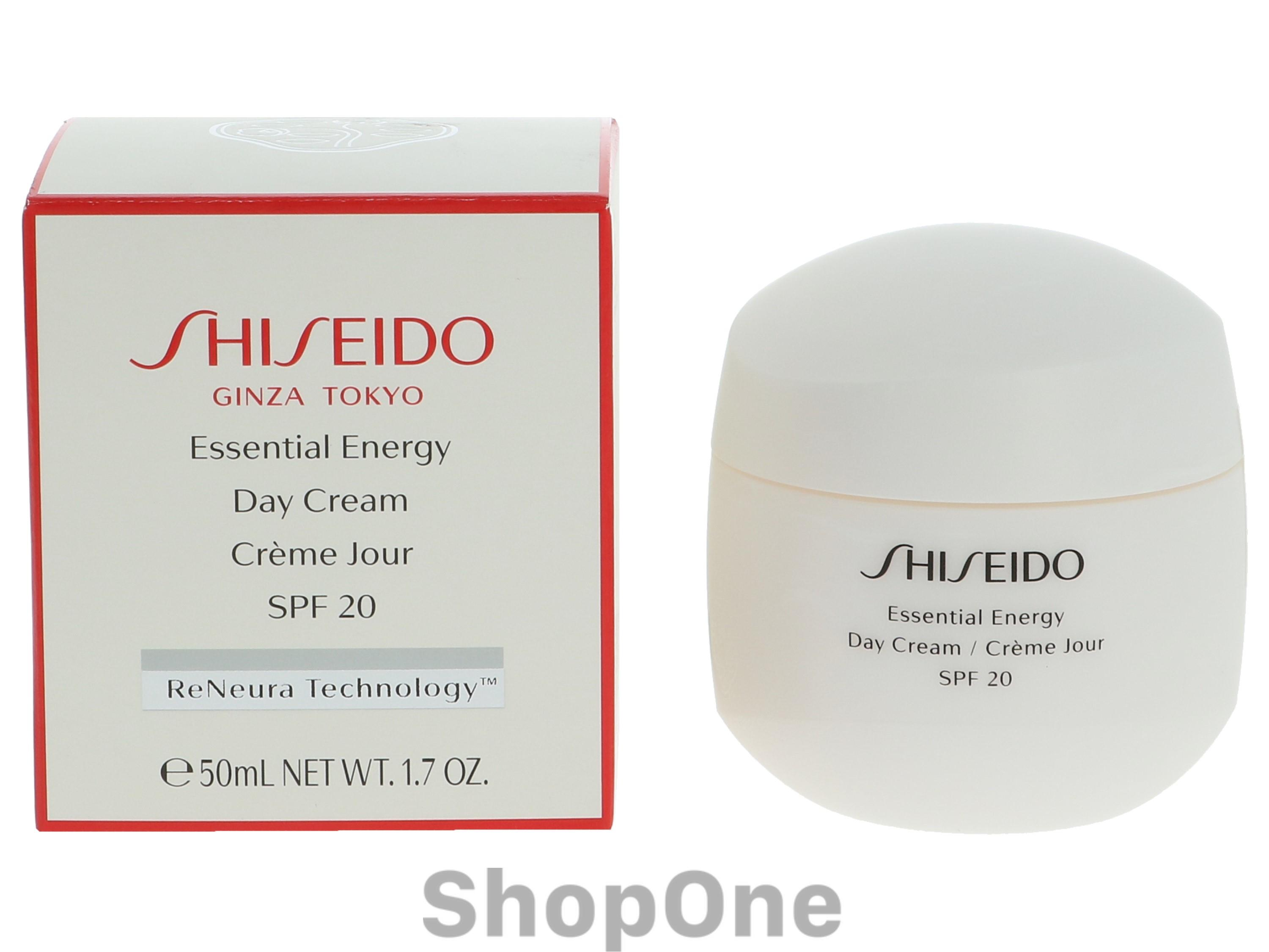 Image of   Essential Energy Day Cream SPF20 50 ml fra Shiseido