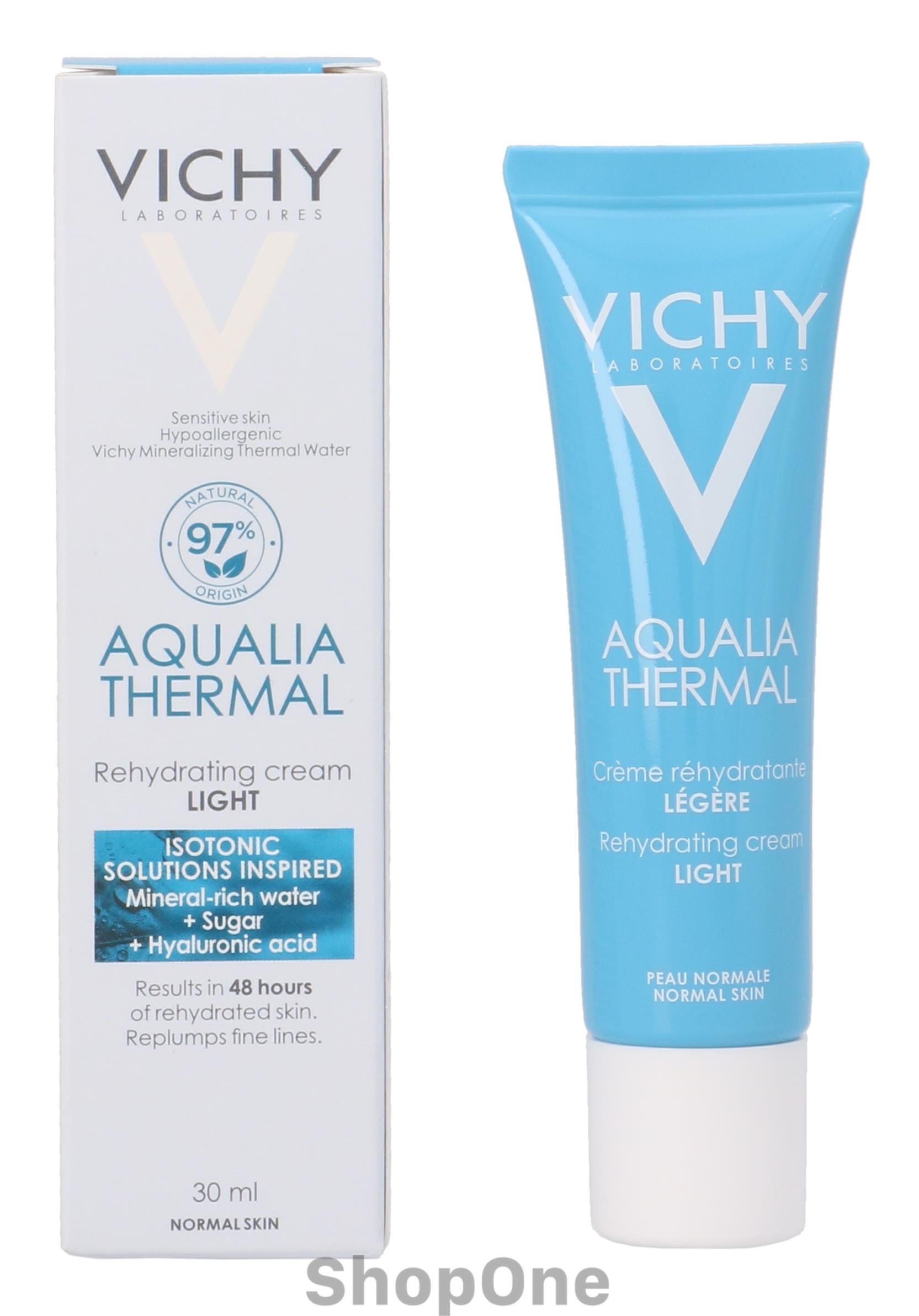 Image of   Aqualia Thermal Light Rehydrating Cream 30 ml fra Vichy