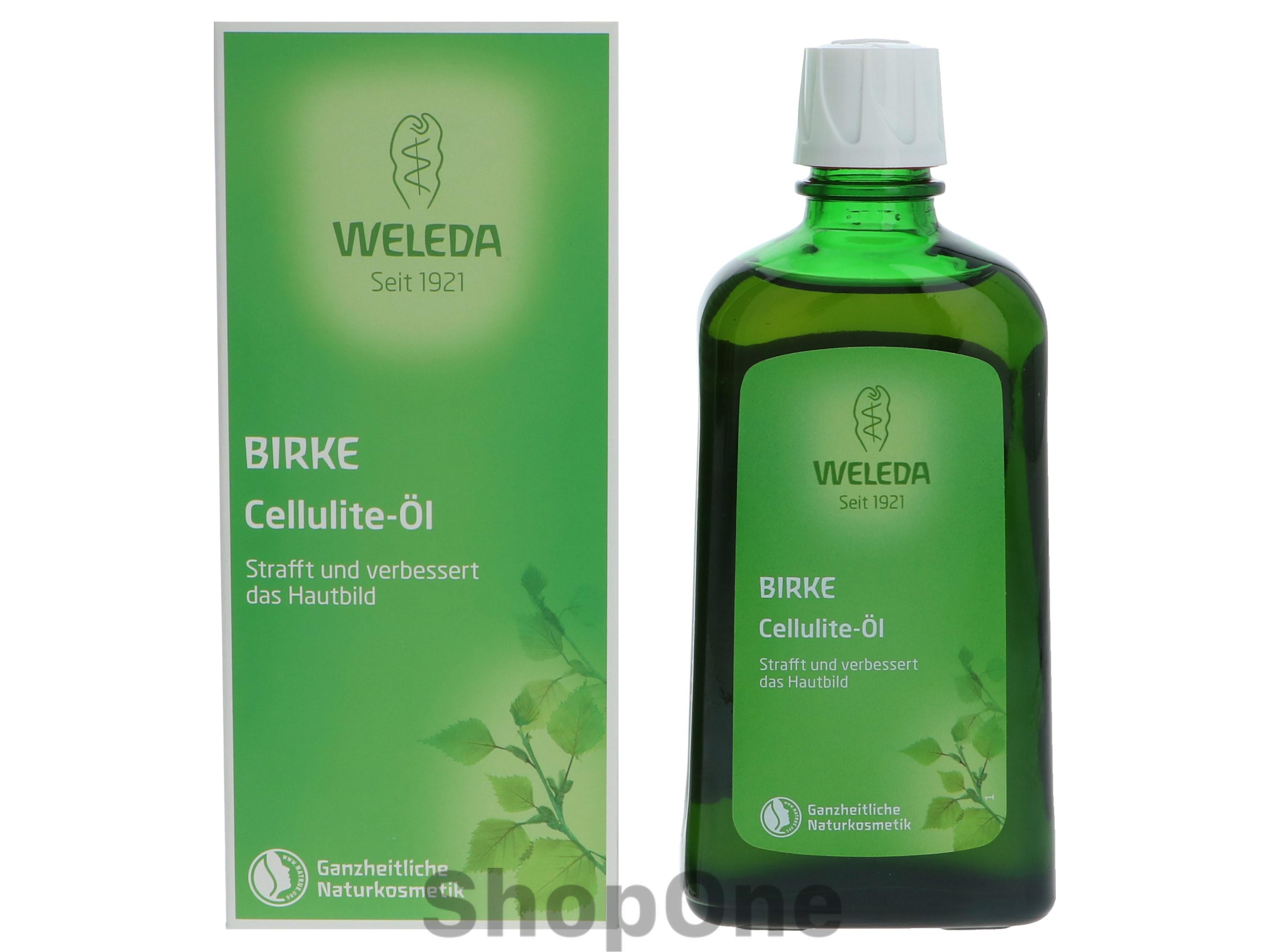 Image of   Birch Cellulite Oil 200 ml fra Weleda