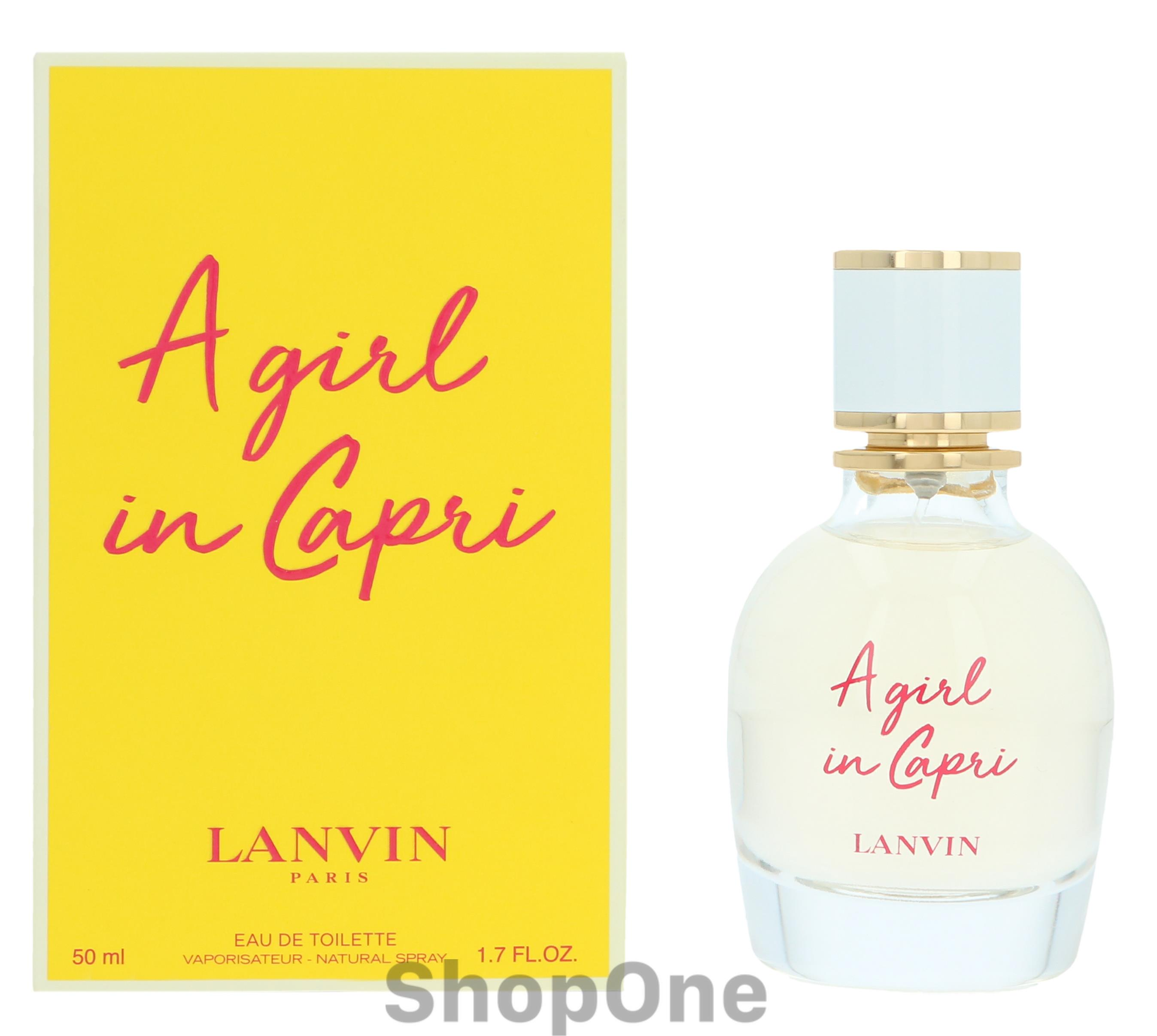 Image of   A Girl In Capri Edt Spray 50 ml fra Lanvin