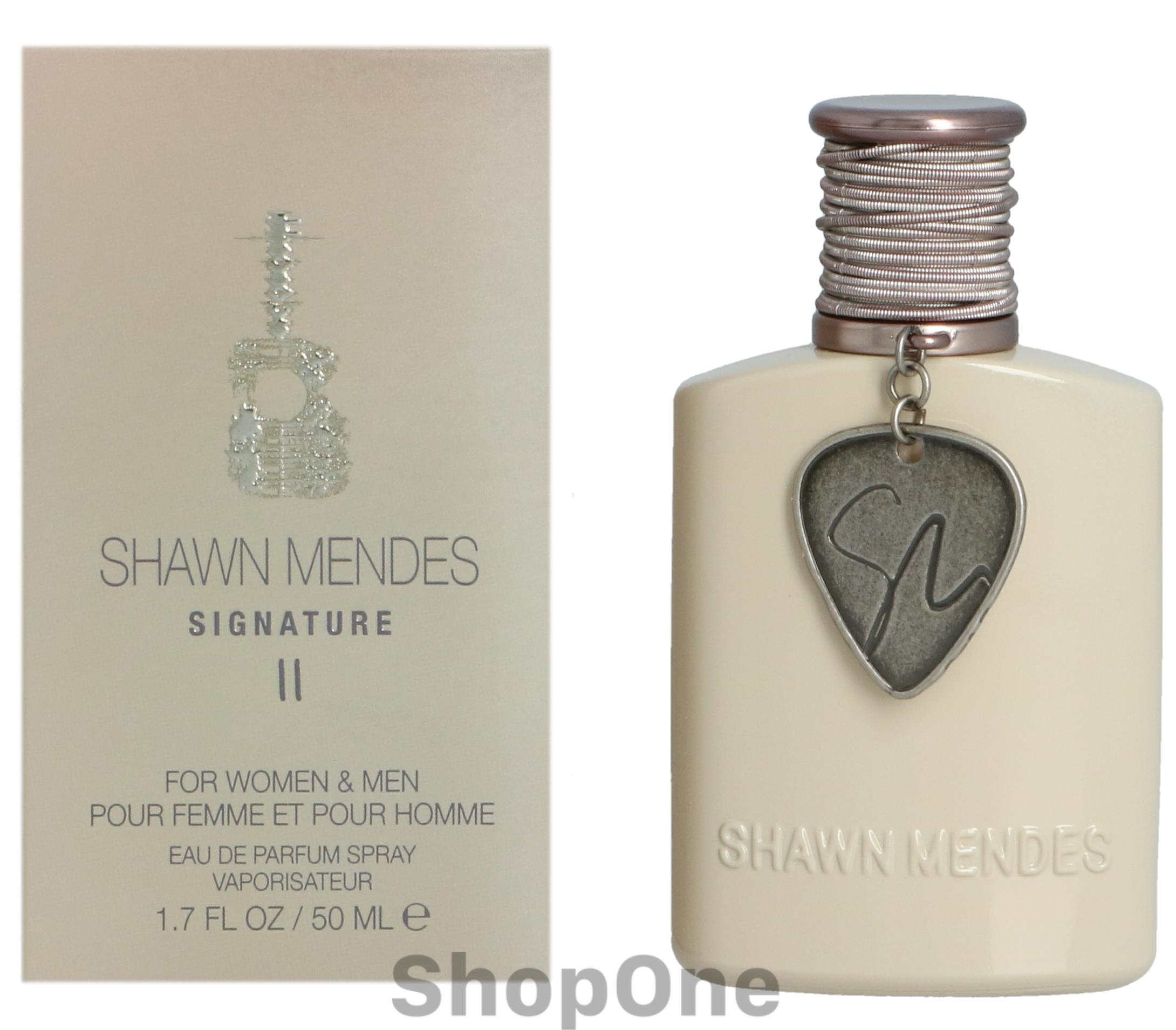 Signature II Edp Spray 50 ml fra Shawn Mendes - Unisexgeuren Shawn Mendes Signature II Edp Spray 50 ml. Fra Shawn Mendes.