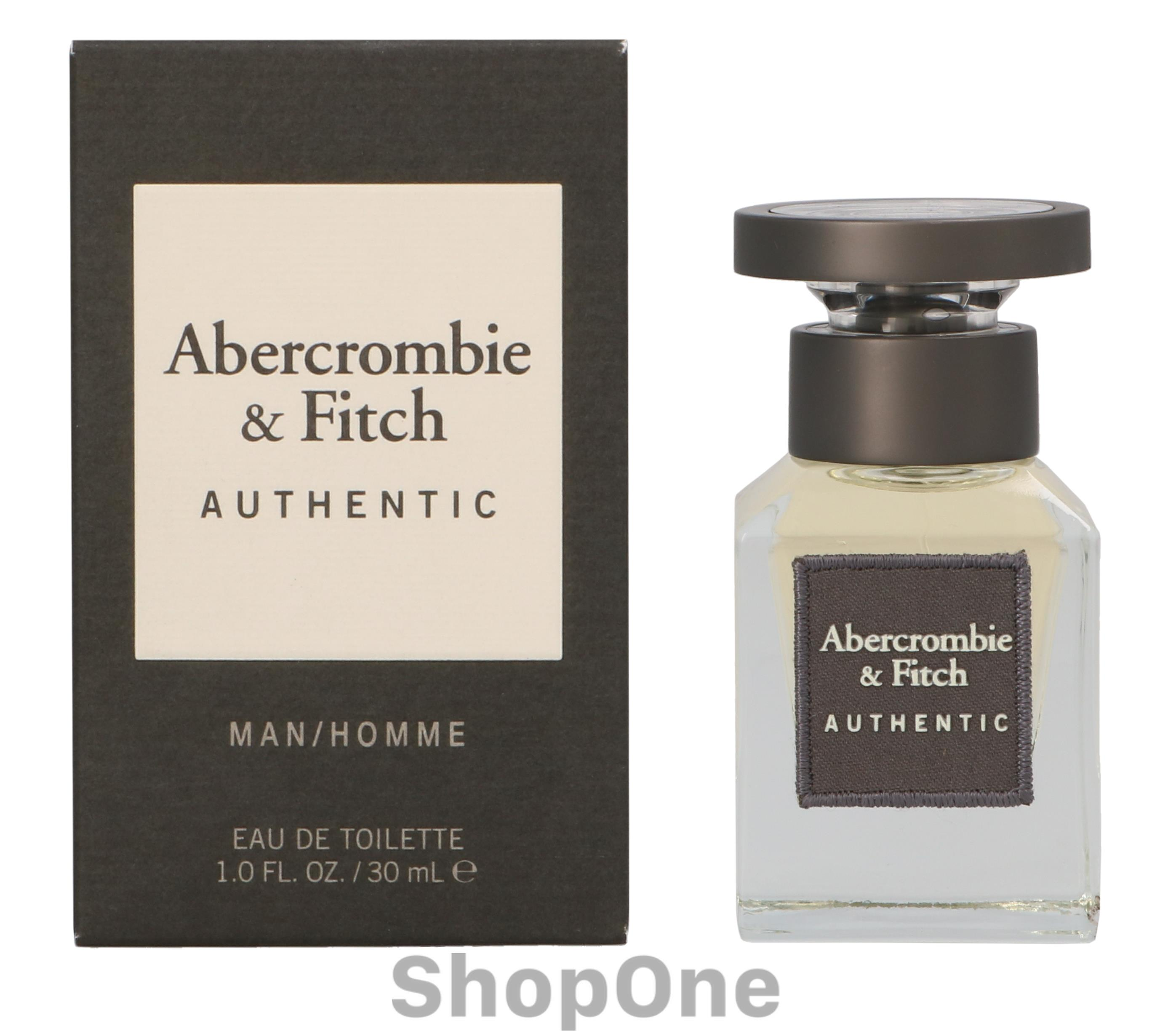 Image of   Authentic Men Edt Spray 30 ml fra Abercrombie Fitch