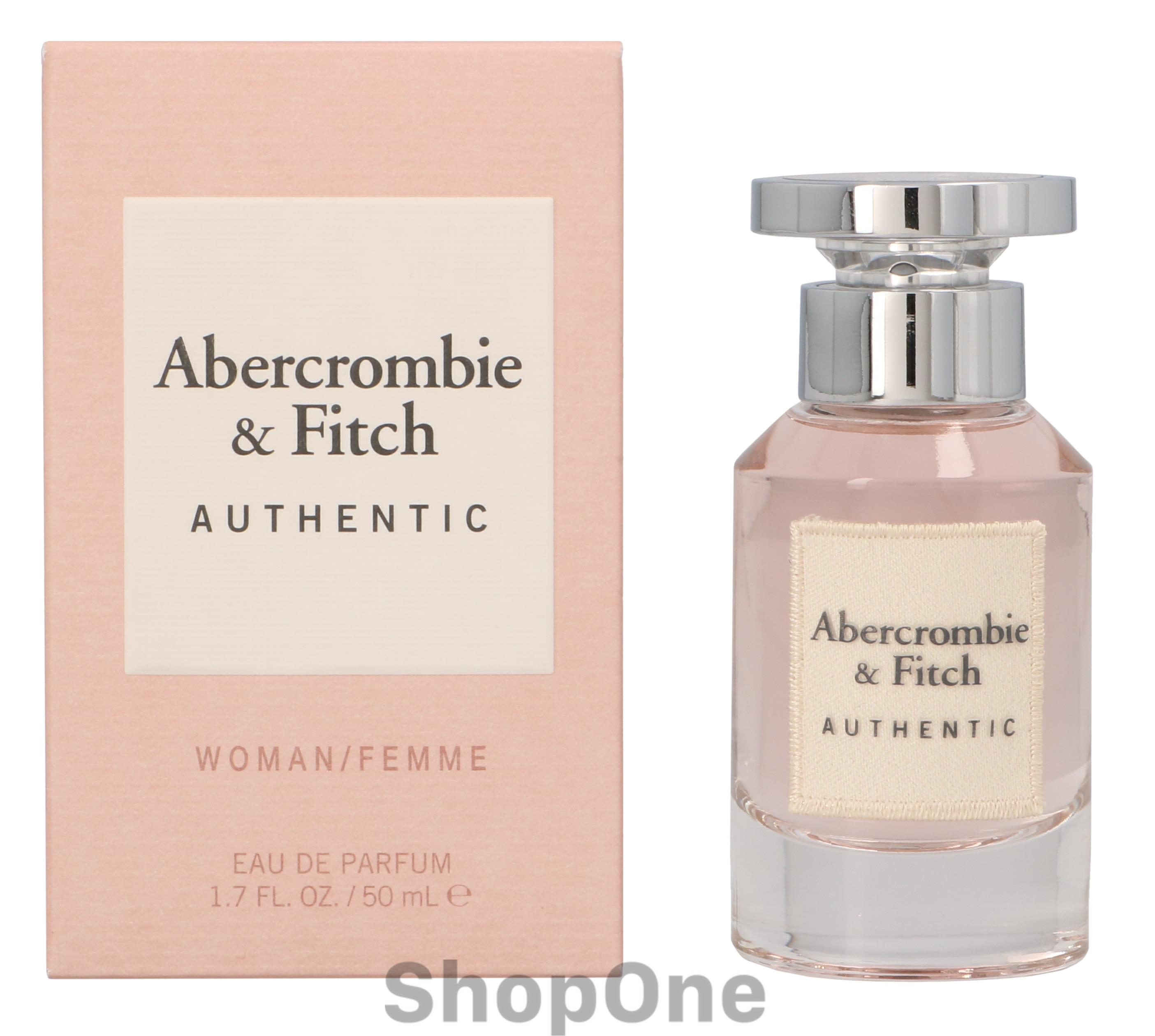 Image of   Authentic Women Edp Spray 50 ml fra Abercrombie Fitch
