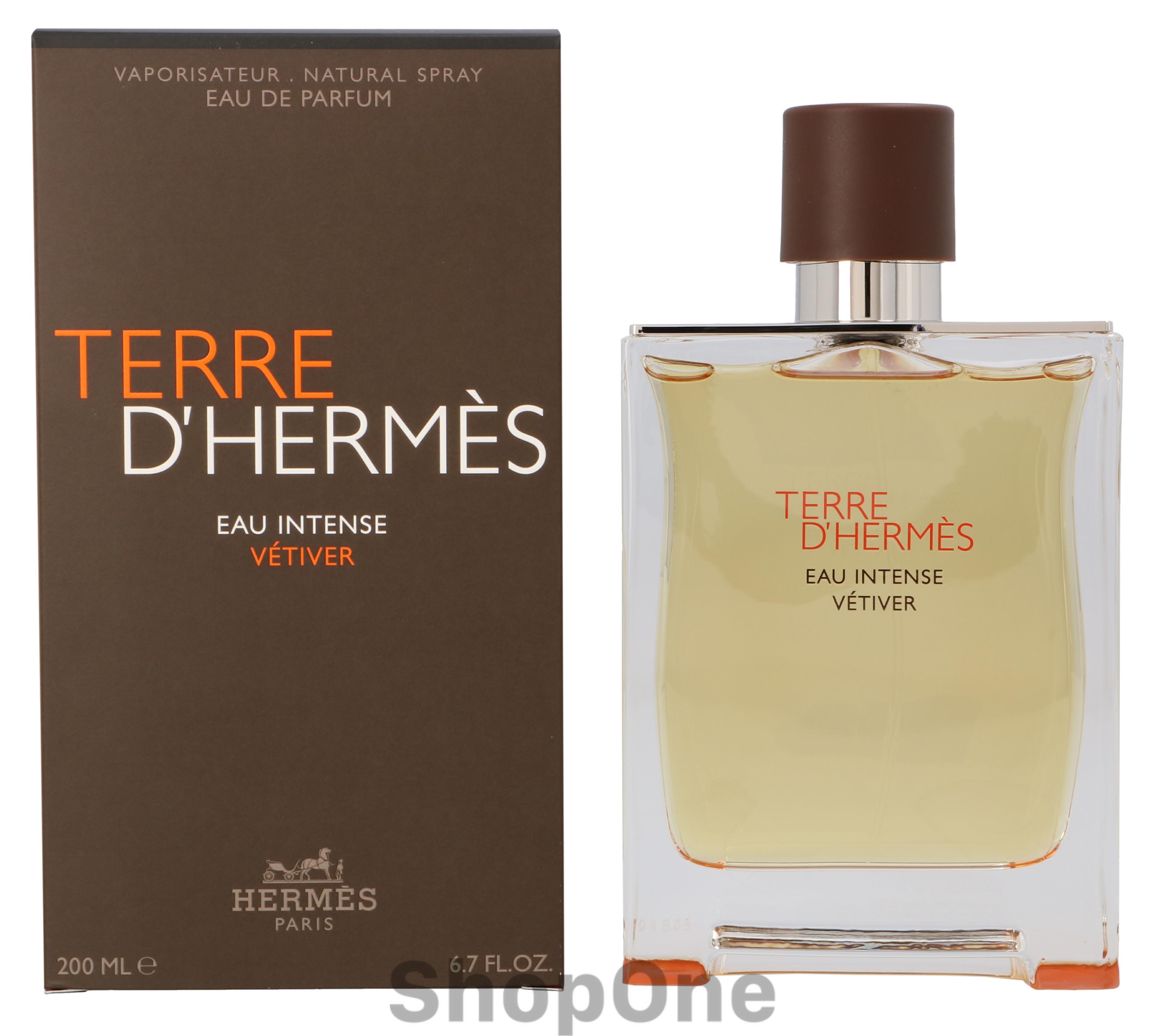 Image of   Terre DHermes Eau Intense Vetiver Edp Spra 200 ml fra Hermes