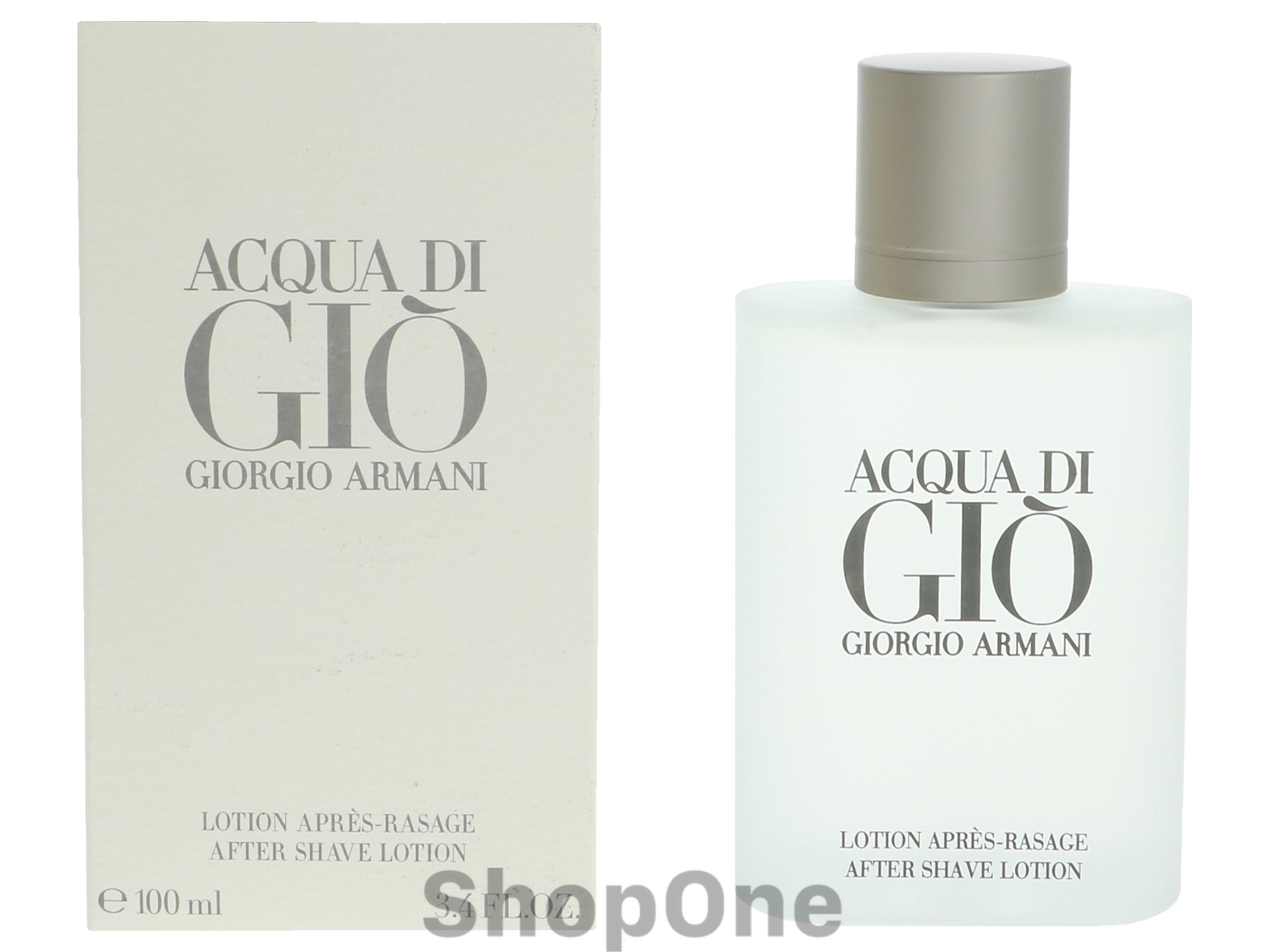 Image of   Acqua Di Gio Pour Homme After Shave Lotion 100 ml fra Armani