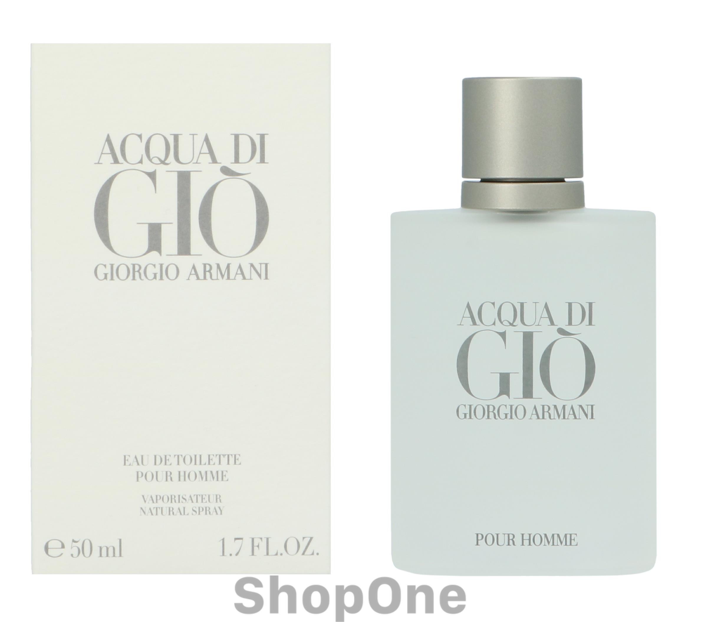 Image of   Acqua Di Gio Pour Homme Edt Spray 50 ml fra Armani