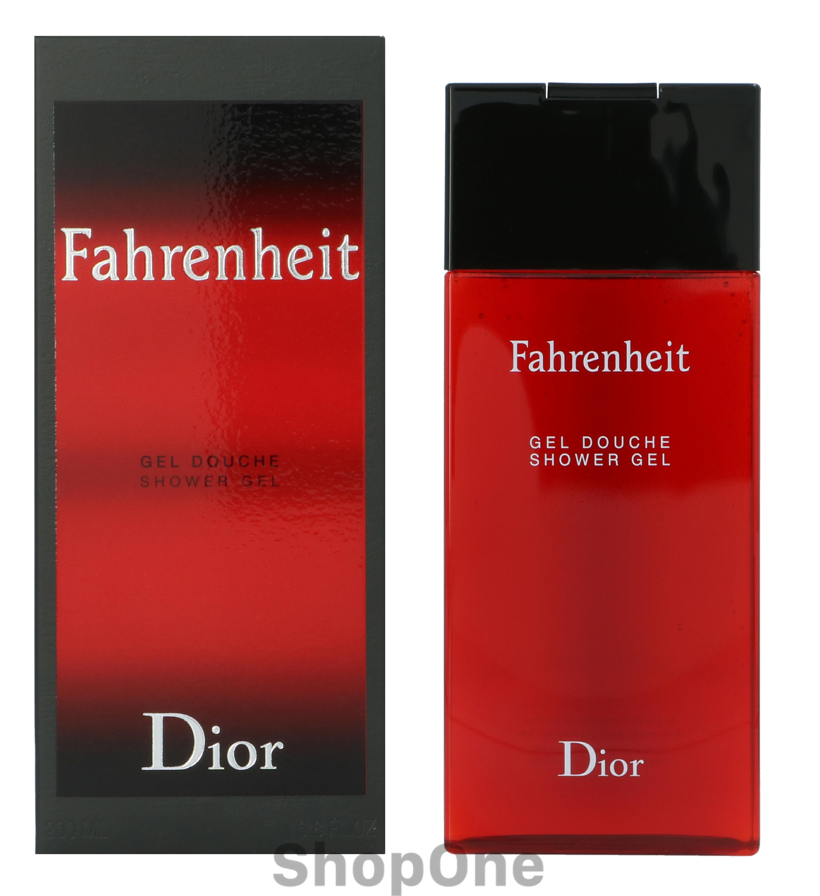 Image of   Dior Fahrenheit Shower Gel 200 ml fra Christian Dior