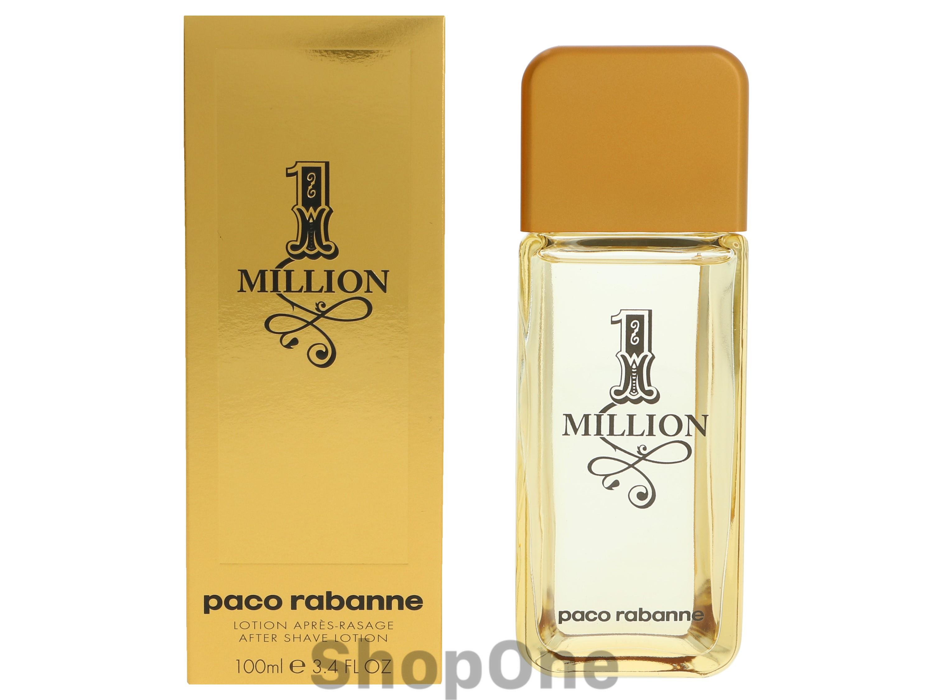 Image of   1 Million After Shave Lotion 100 ml fra Paco Rabanne