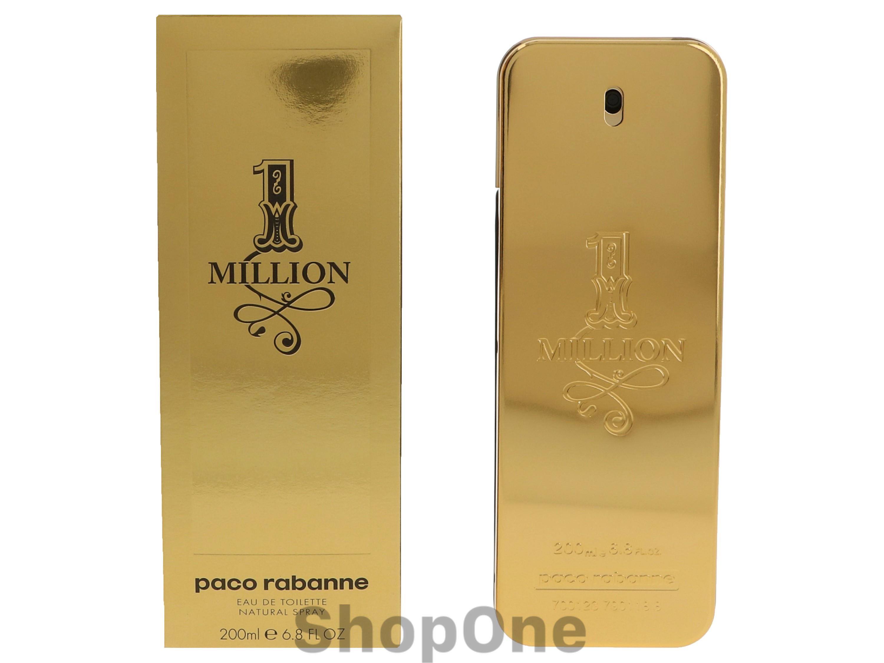 Image of   1 Million Edt Spray 200 ml fra Paco Rabanne