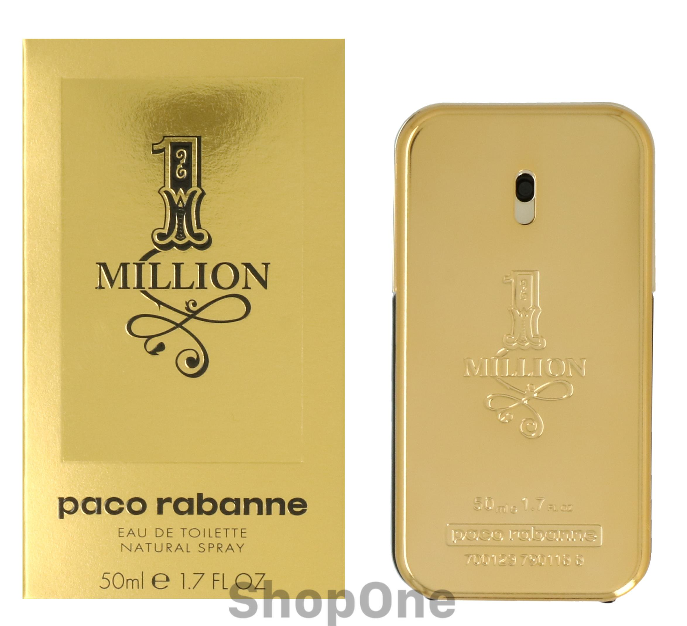 Image of   1 Million Edt Spray 50 ml fra Paco Rabanne