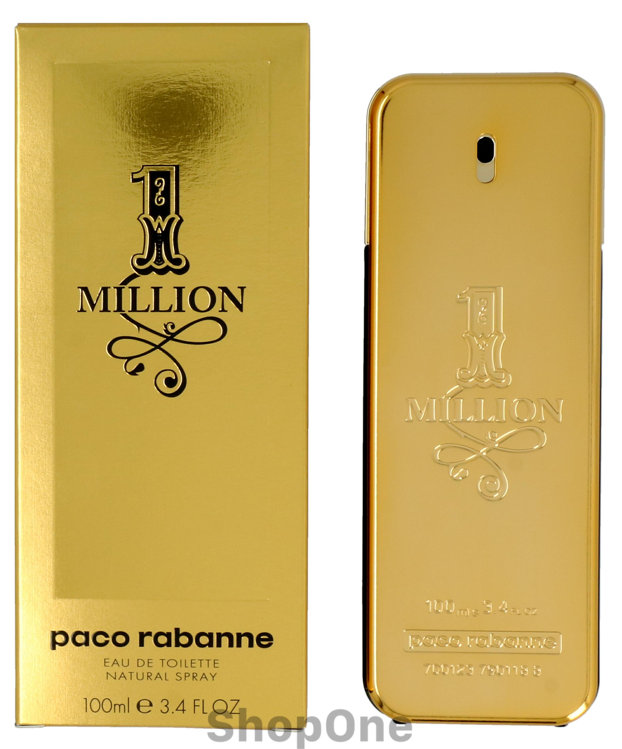 Image of   1 Million Edt Spray 100 ml fra Paco Rabanne