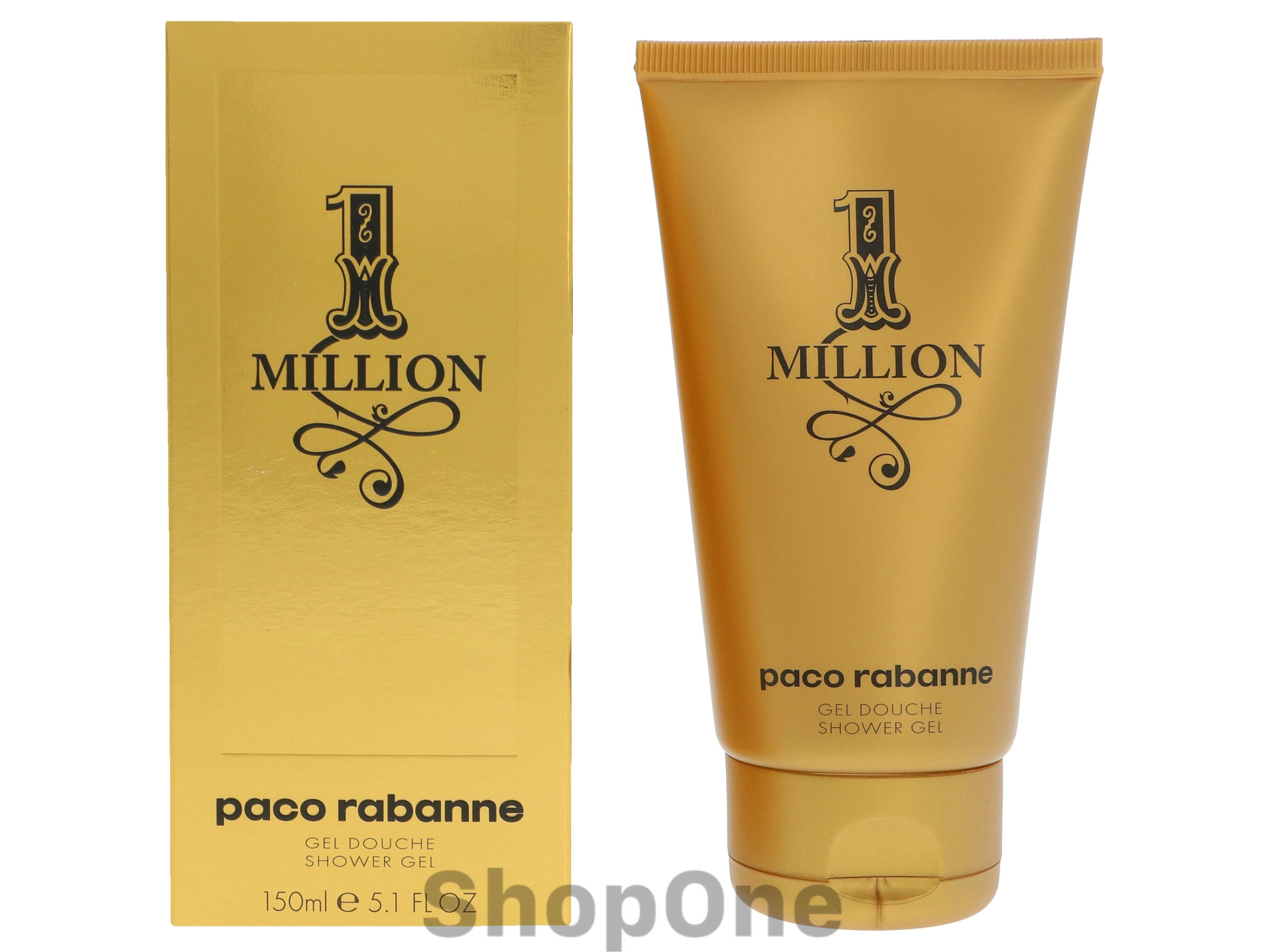 Image of   1 Million Shower Gel 150 ml fra Paco Rabanne