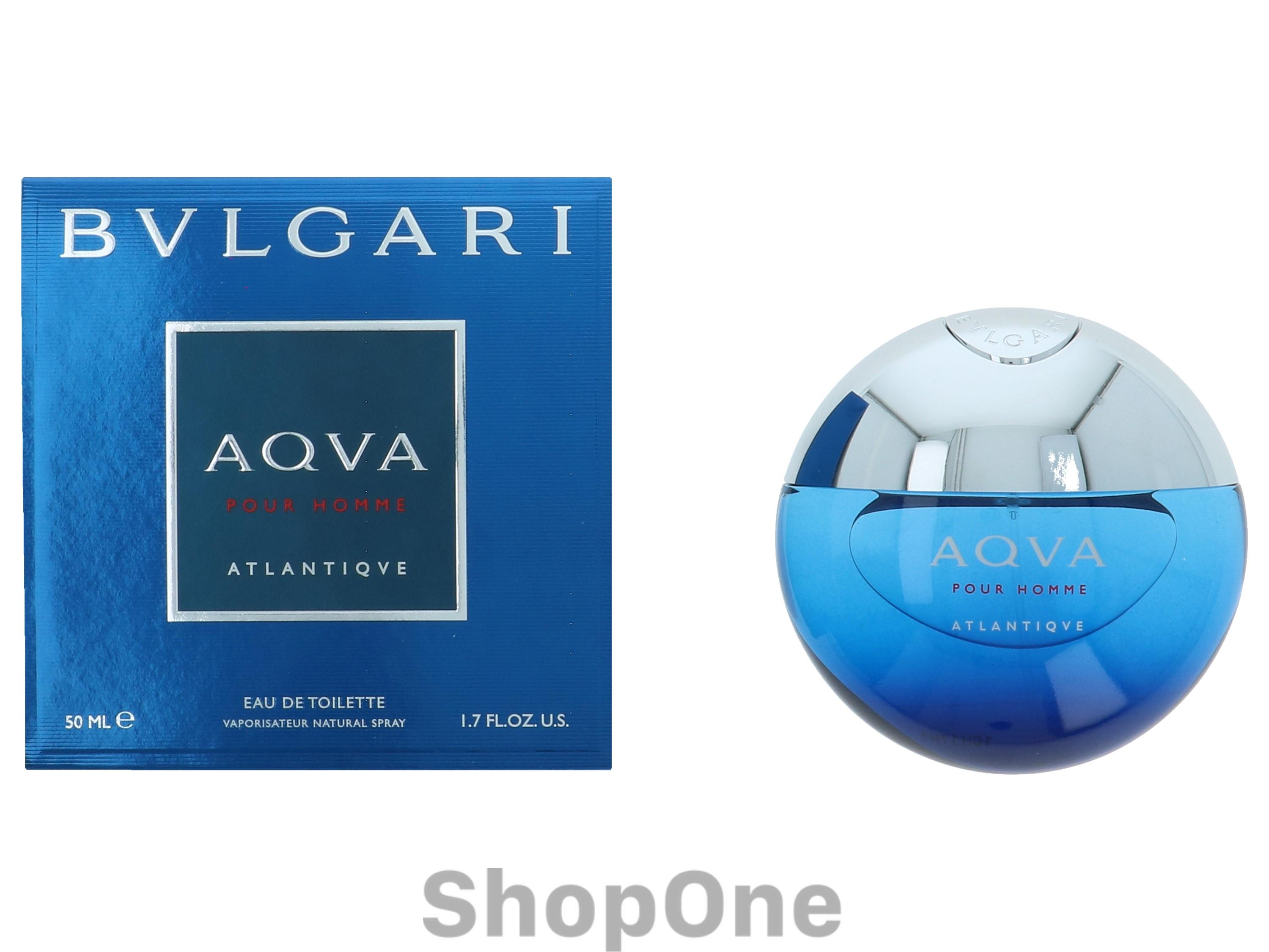 Image of   Aqva Pour Homme Atlantique Edt Spray 50 ml fra Bvlgari