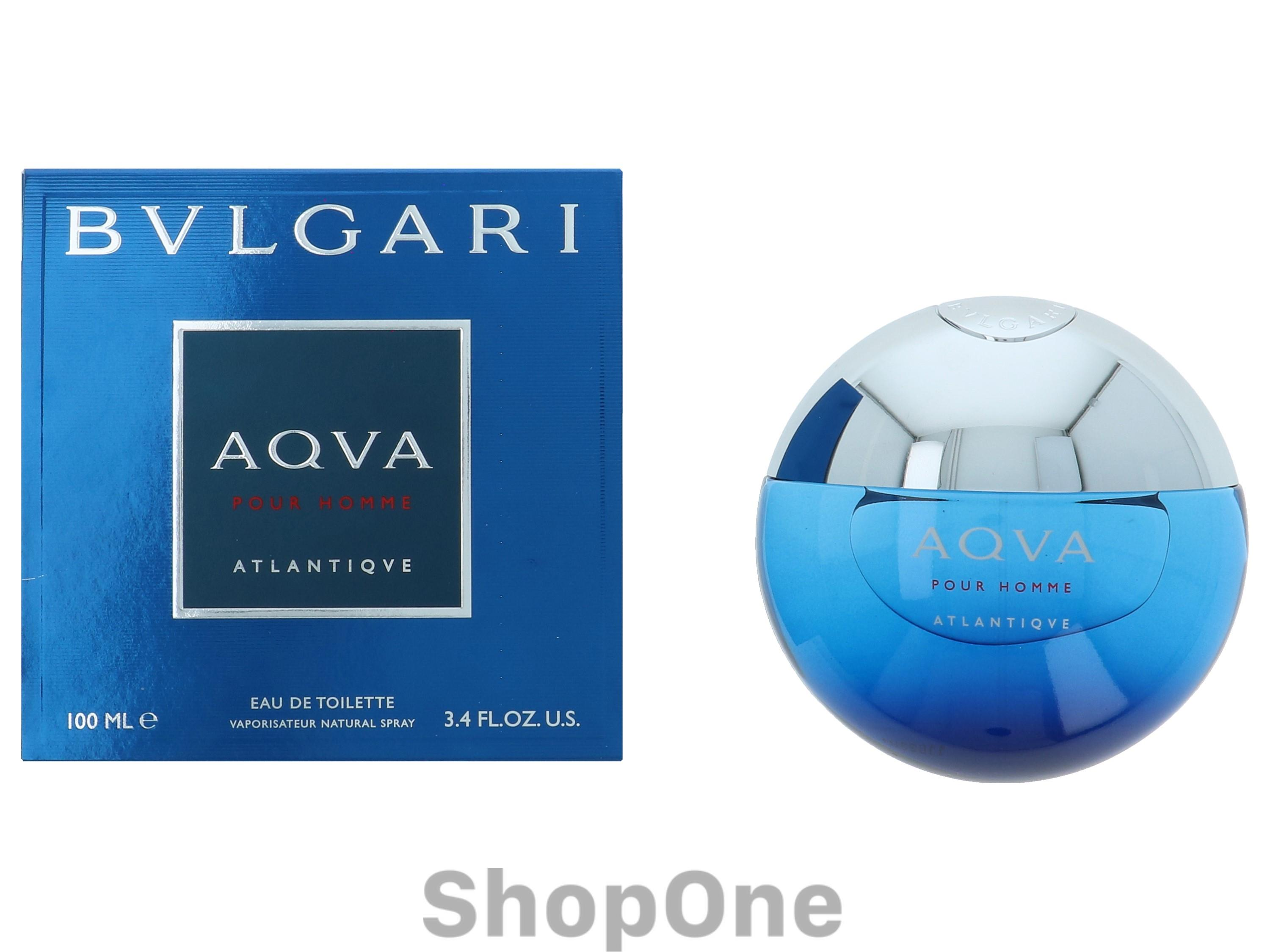 Image of   Aqva Pour Homme Atlantique Edt Spray 100 ml fra Bvlgari