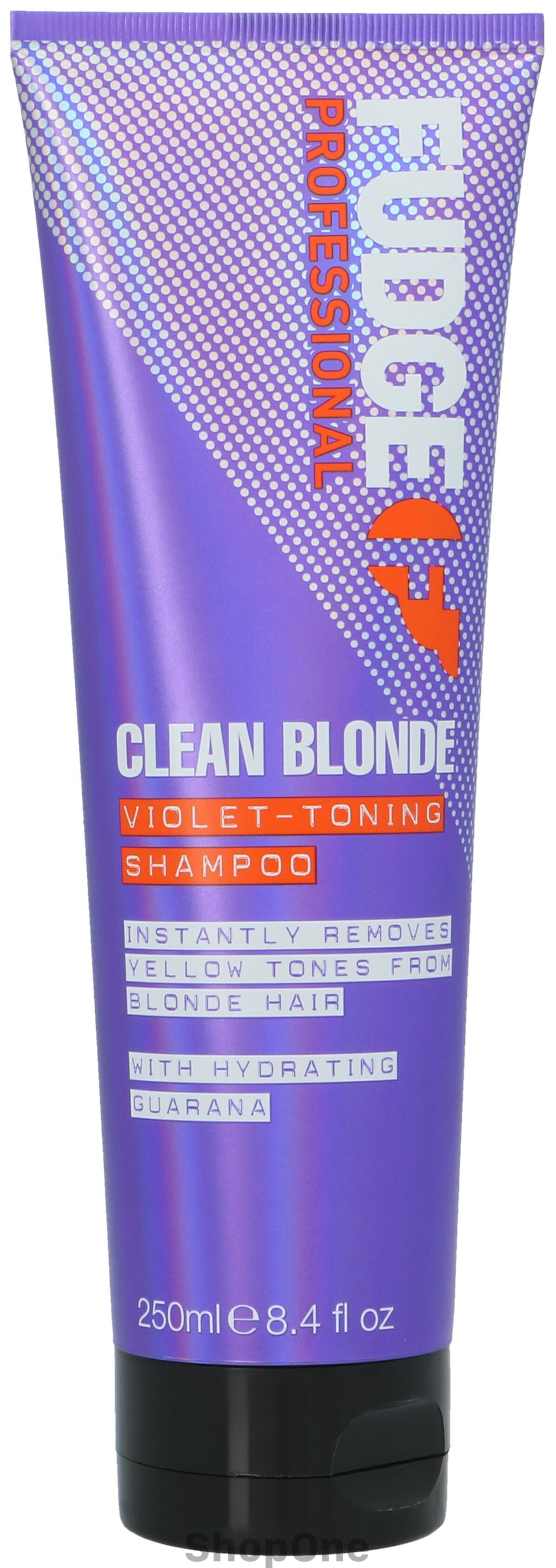 Image of   Clean Blonde Violet Toning Shampoo 250 ml fra Fudge