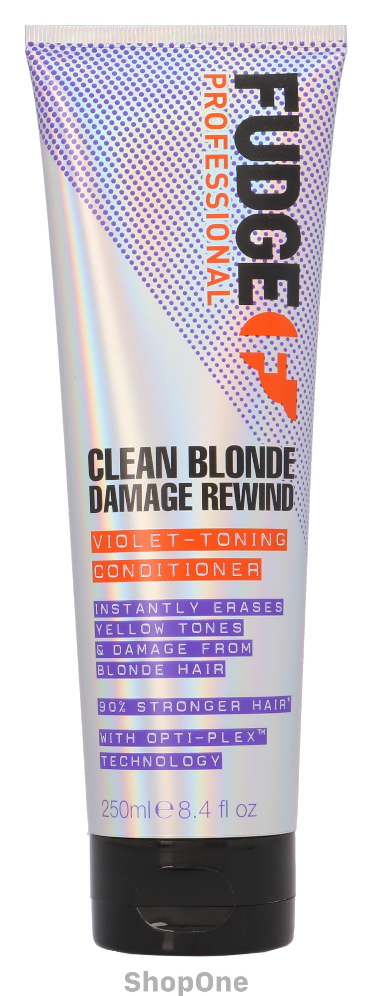 Image of   Clean Blonde Damage Rewind Violet-Toning Con 250 ml fra Fudge