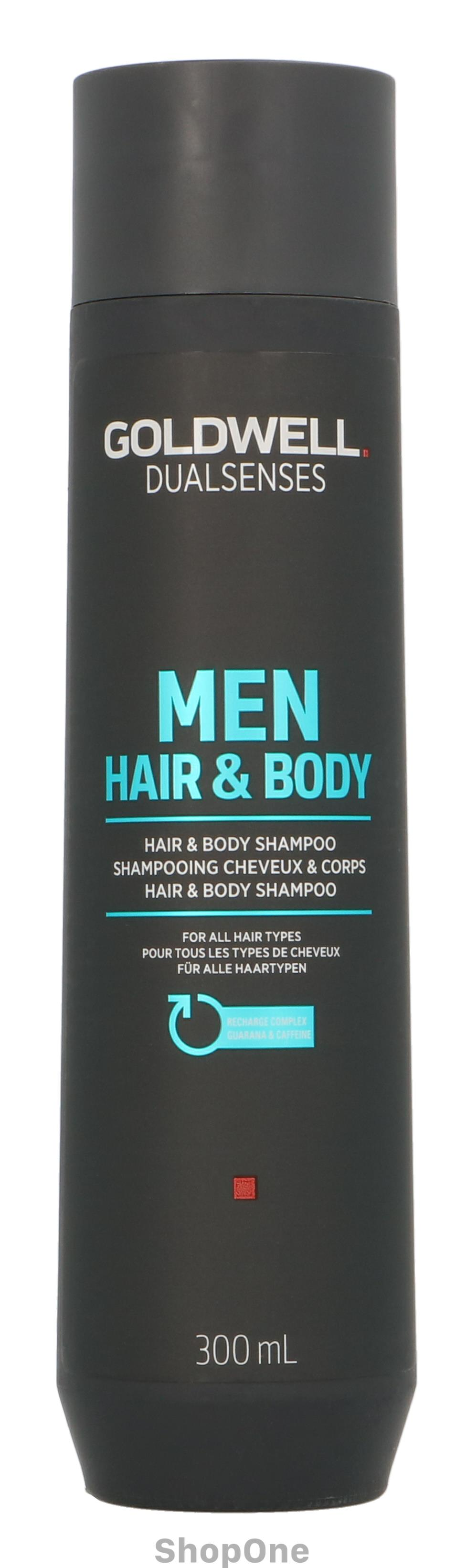 Image of   Dual Senses Men HairBody Shampoo 300 ml fra Goldwell