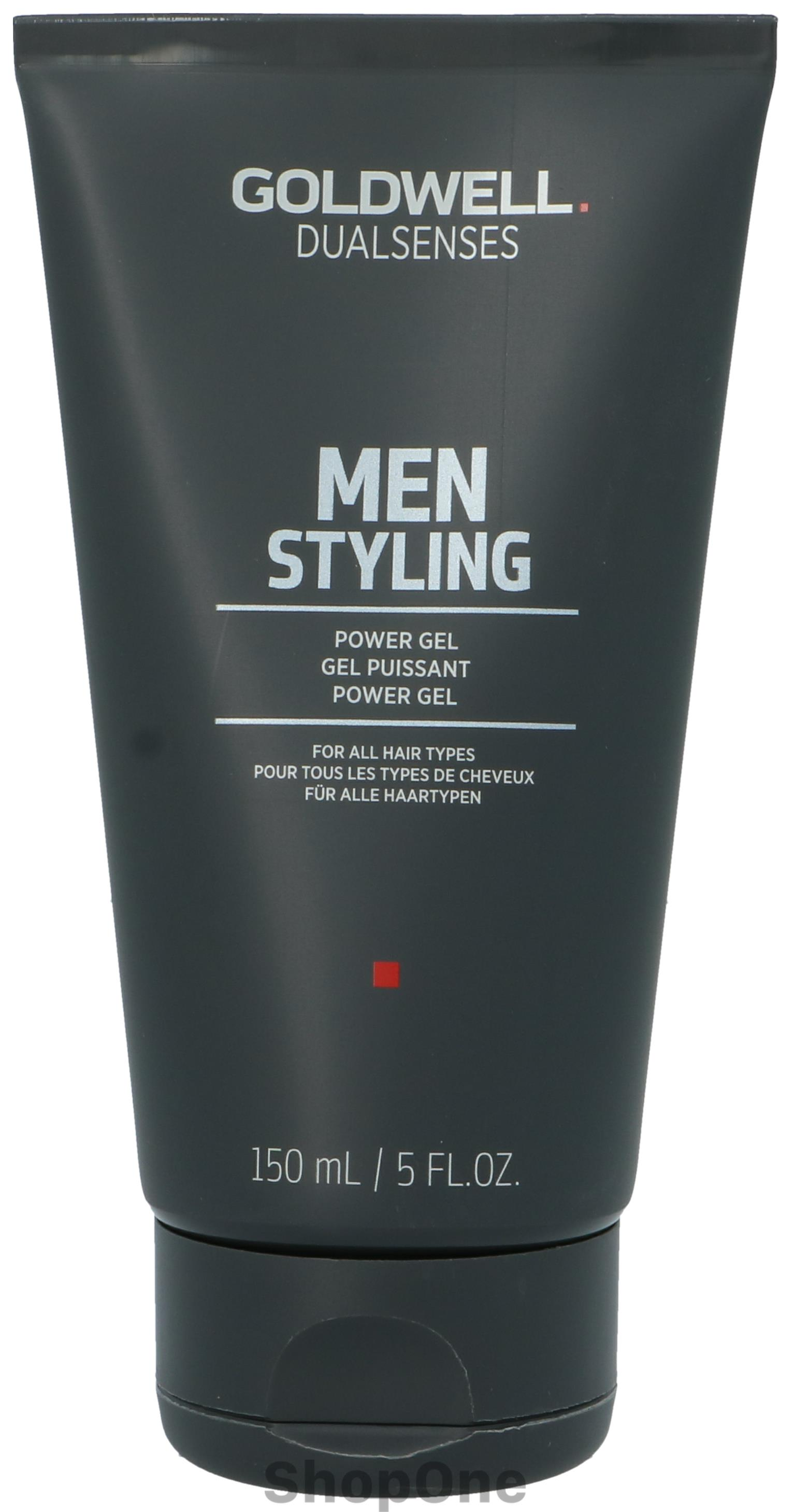 Image of   Dual Senses Men Power Gel 150 ml fra Goldwell