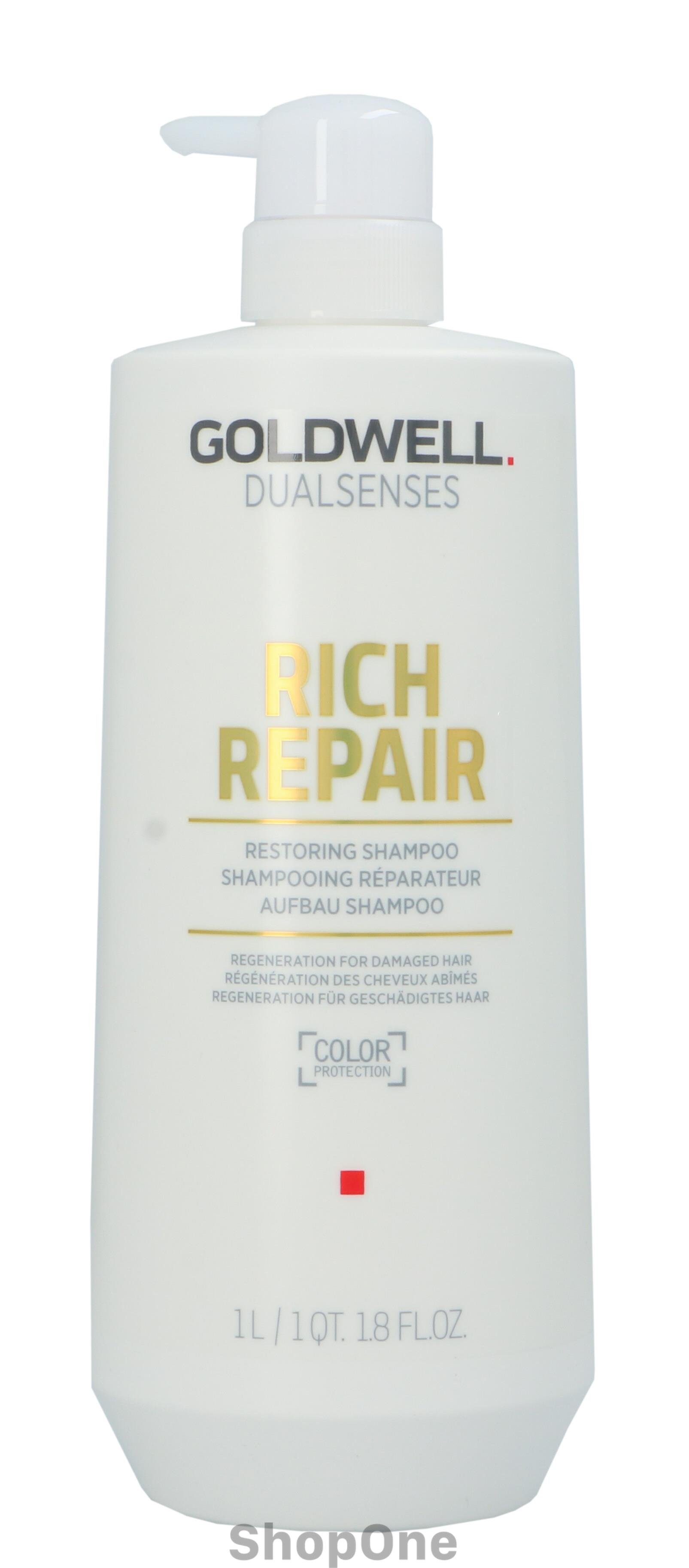 Image of   Dual Senses Rich Repair Shampo 1000 ml fra Goldwell