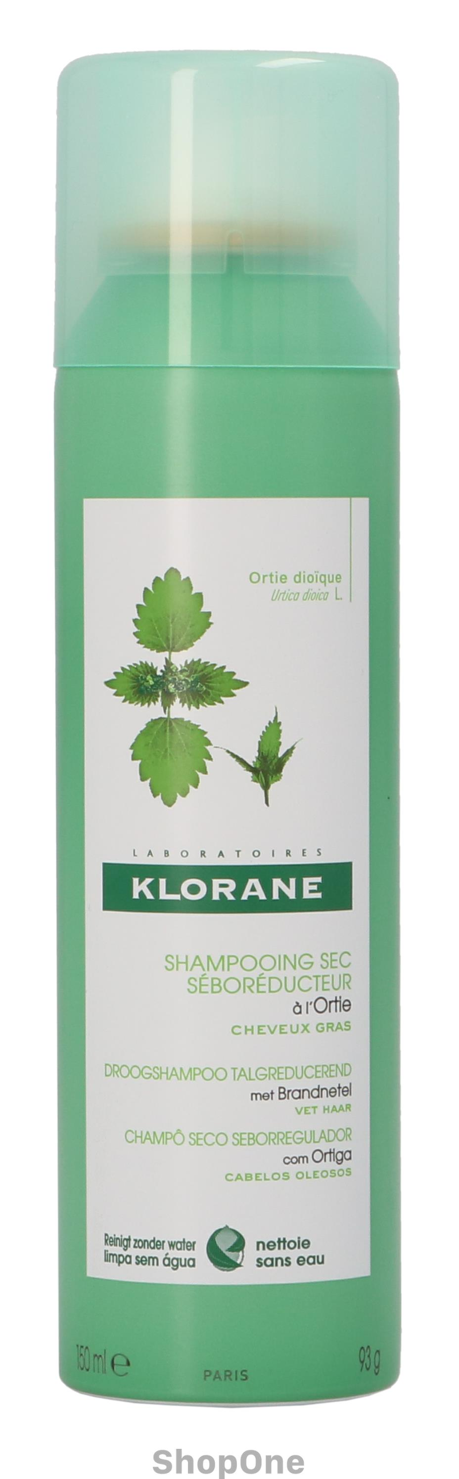 Image of   Dry Shampoo With Nettle 150 ml fra Klorane
