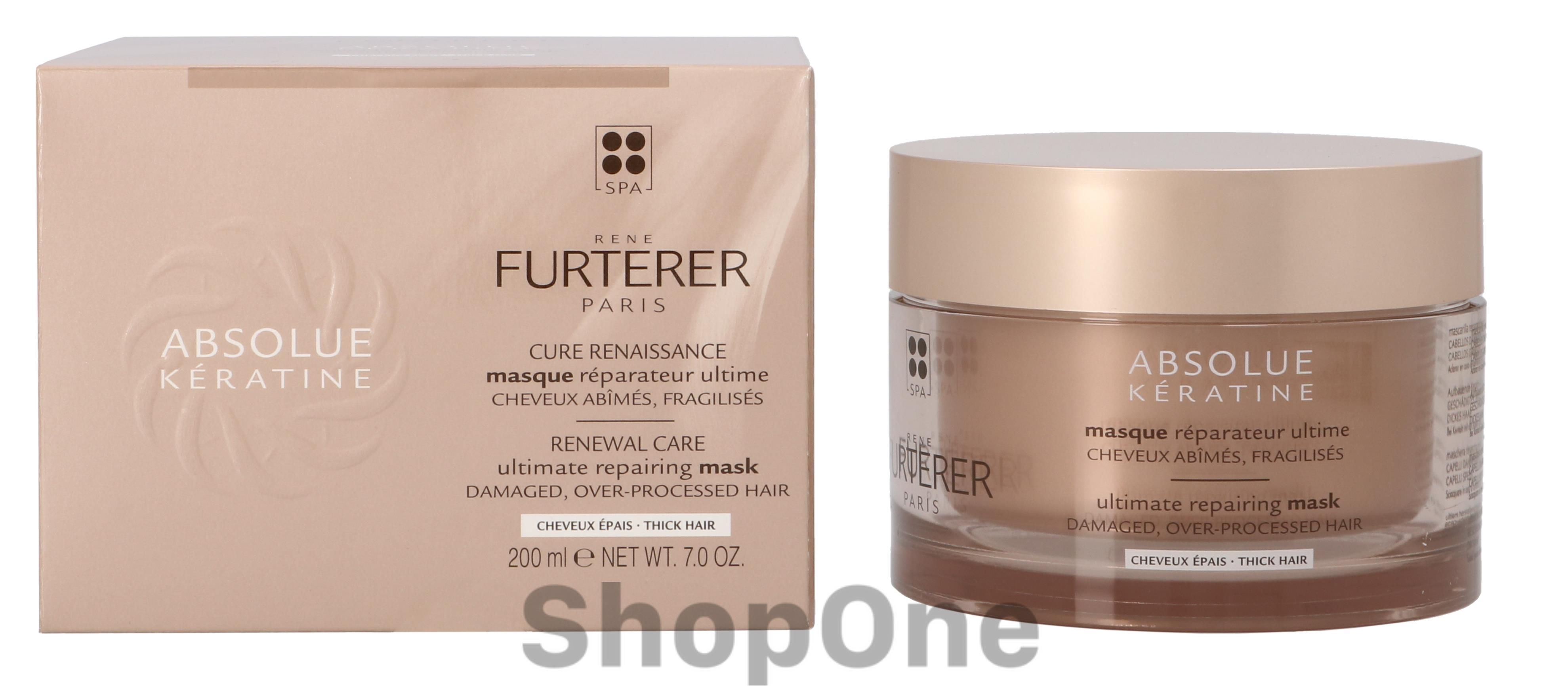 Image of   Absolute Keratine Rapairing Mask 200 ml fra Rene Furterer