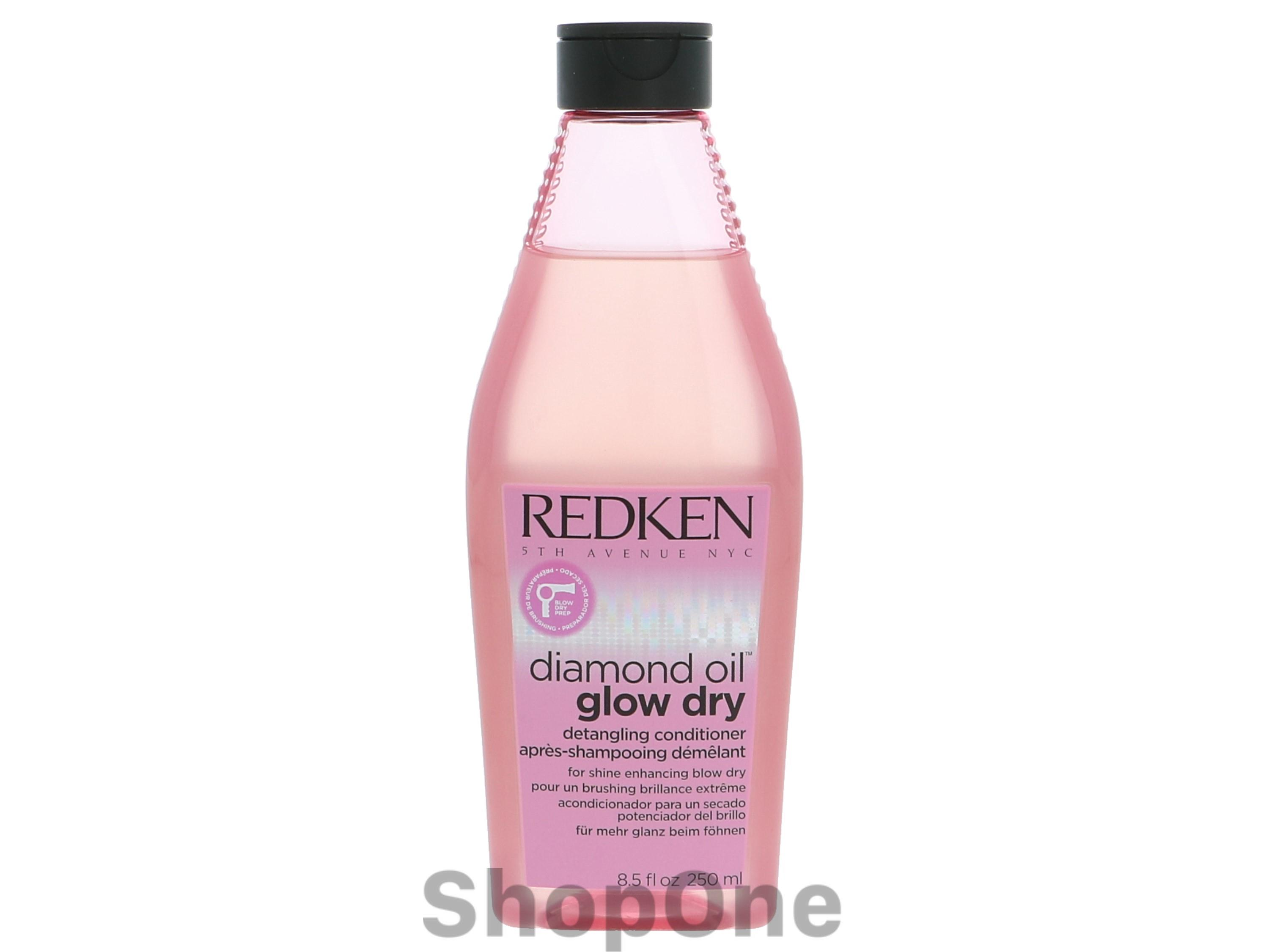 Image of   Diamond Oil Glow Dry Conditioner 250 ml fra Redken