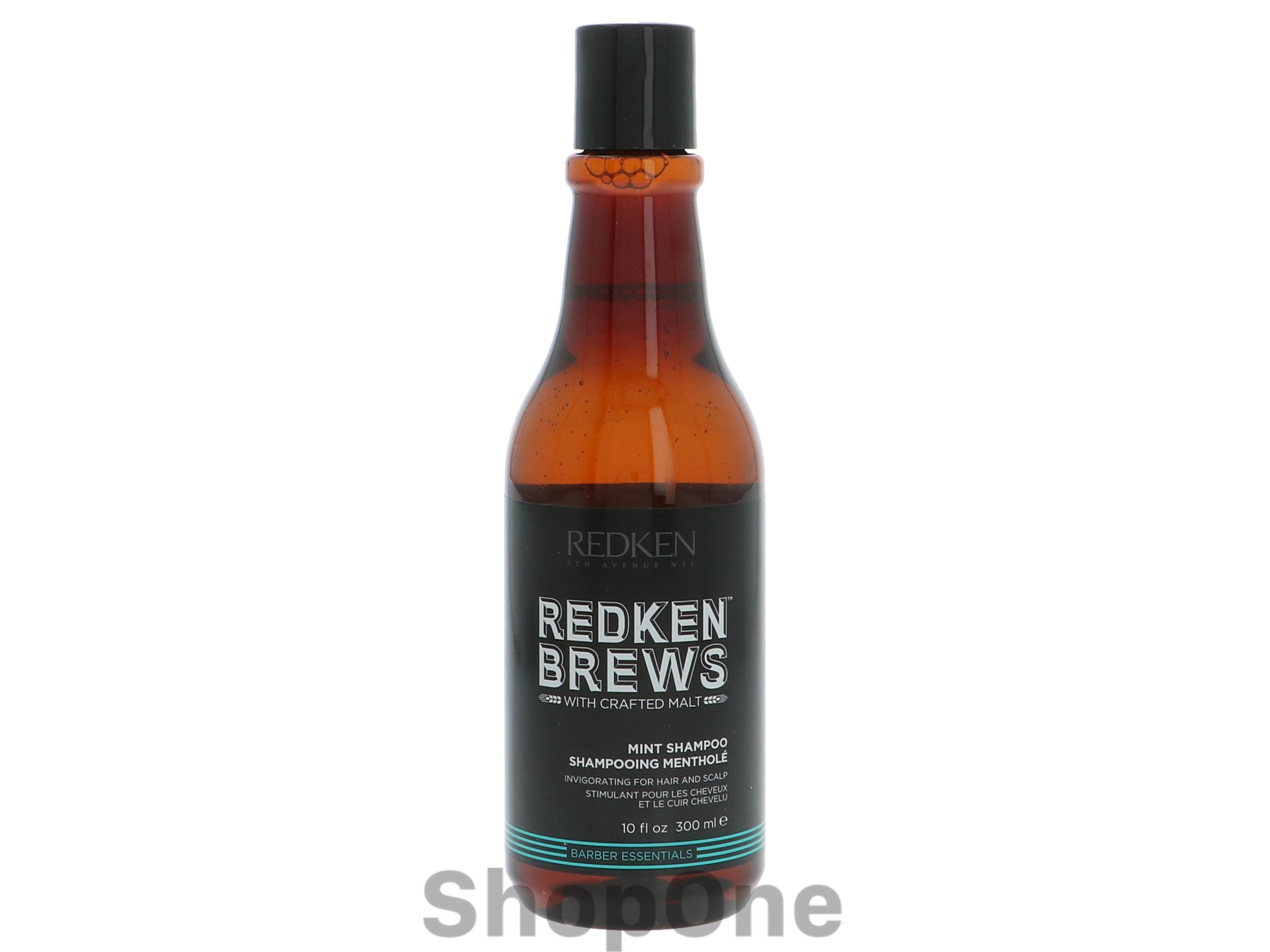 Image of   Brews Mint Shampoo 300 ml fra Redken