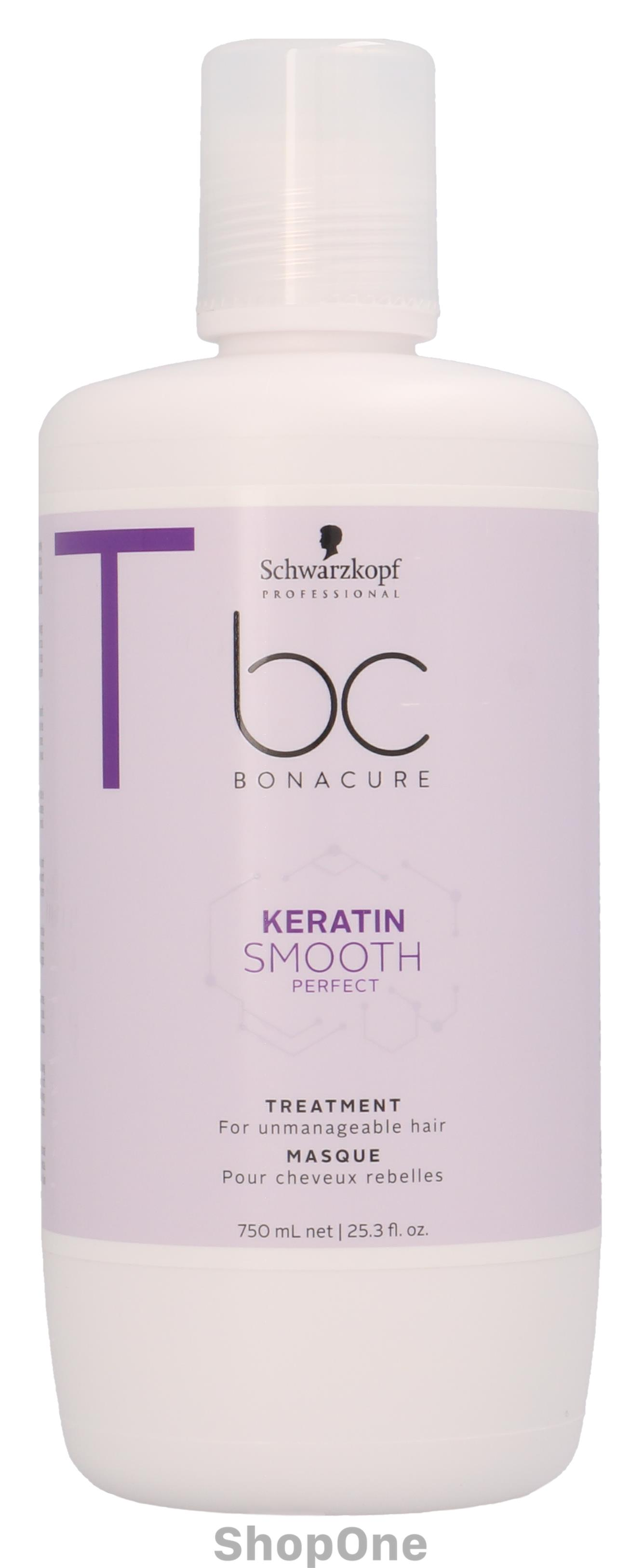 Image of   Bonacure Keratin SmoothPerfect Treatment 750 ml fra Schwarzkopf